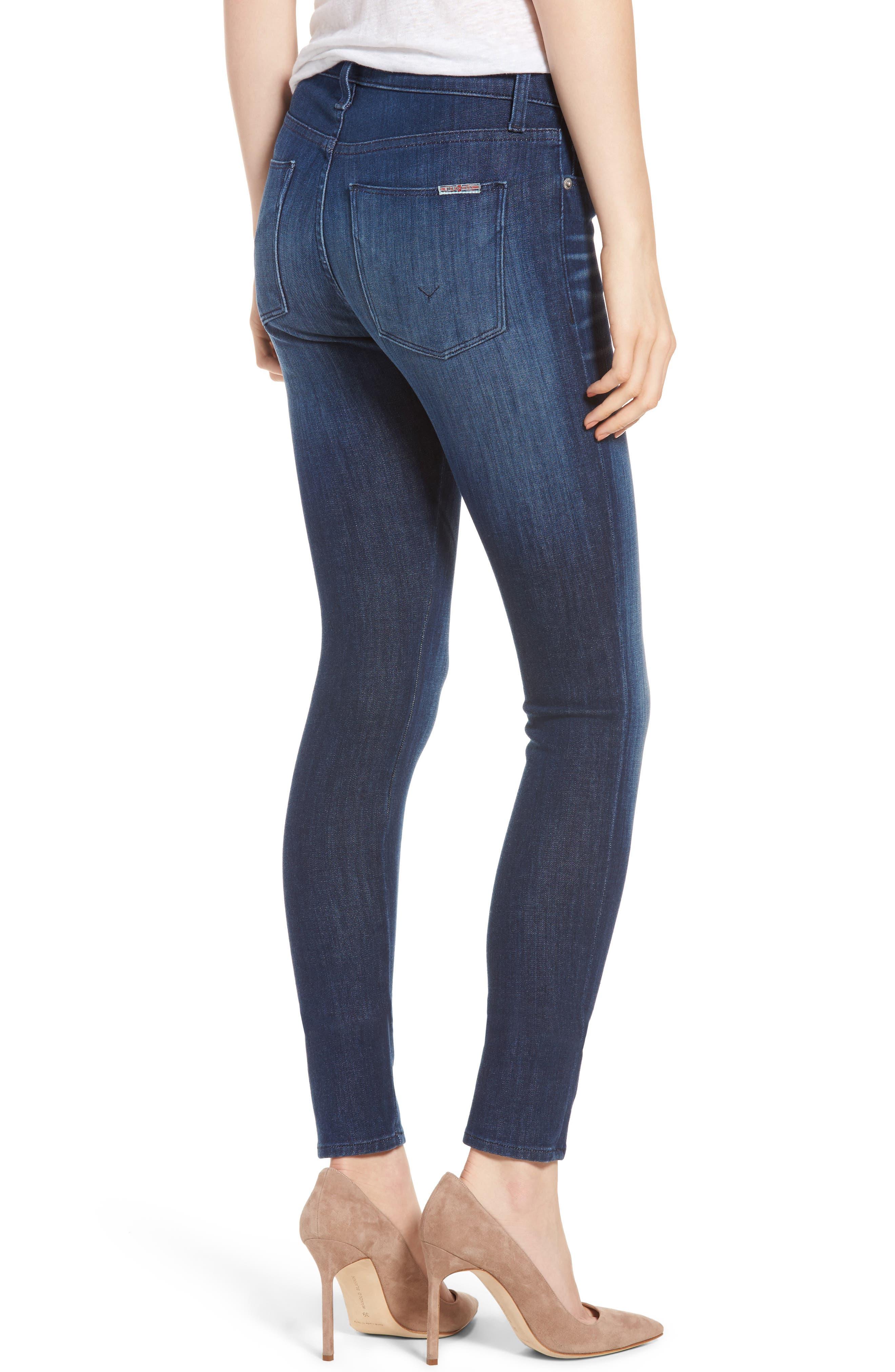 Nico Super Skinny Jeans,                             Alternate thumbnail 4, color,
