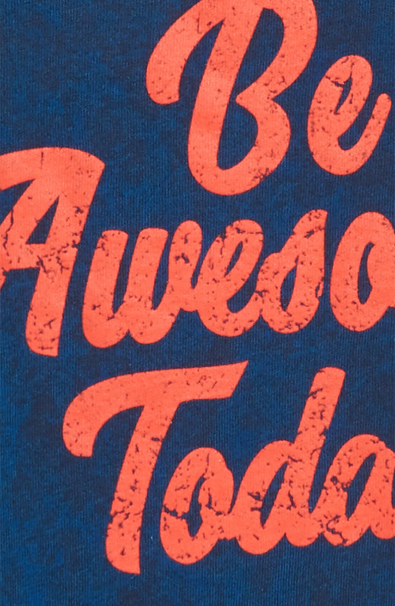 Graphic T-Shirt,                             Alternate thumbnail 2, color,                             BLUE WING BE AWESOME