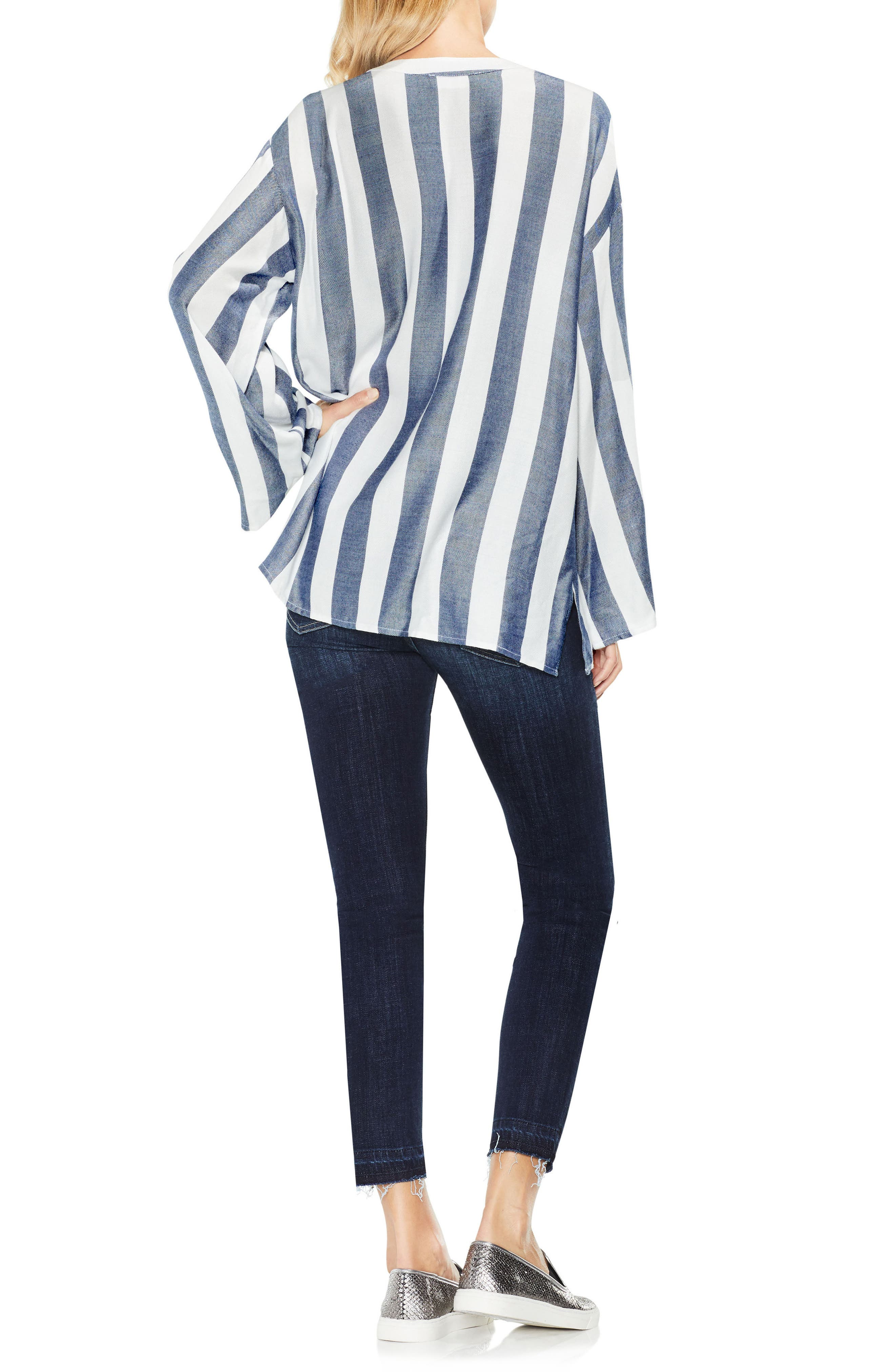 Bell Sleeve Top,                             Alternate thumbnail 3, color,                             453