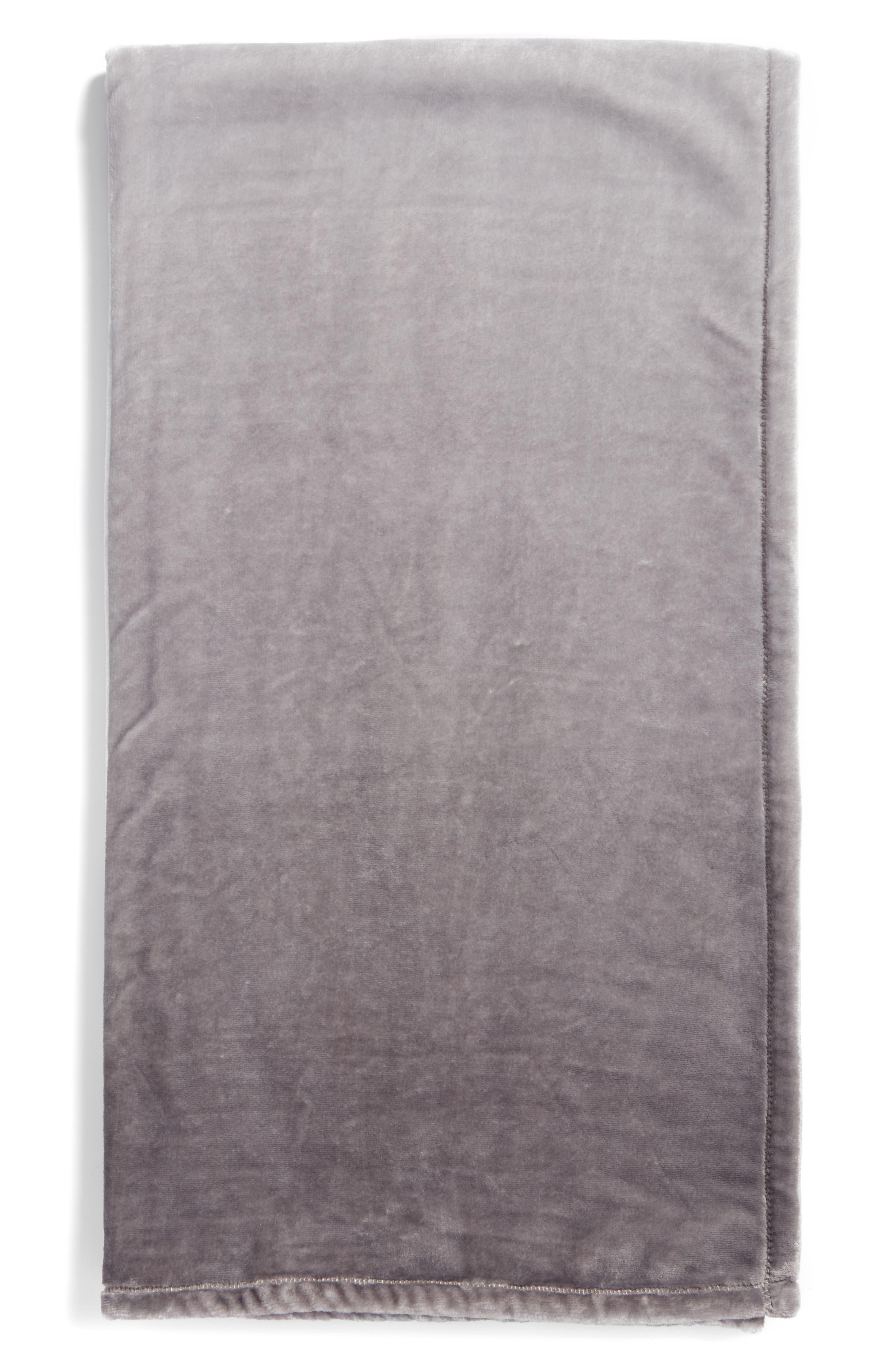 Print Plush Throw Blanket,                             Main thumbnail 1, color,                             030