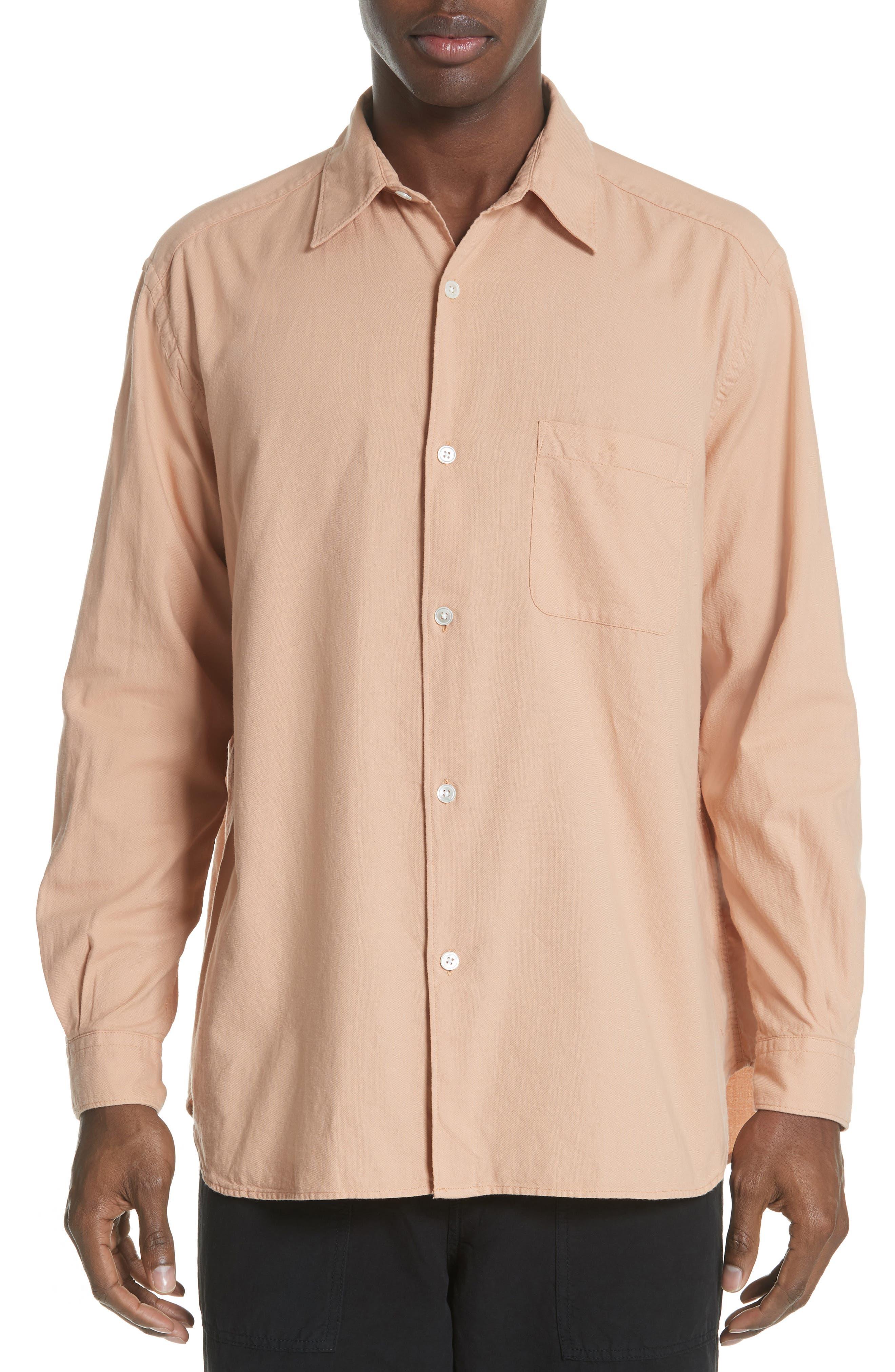 Oversize Basketweave Shirt,                         Main,                         color, 680