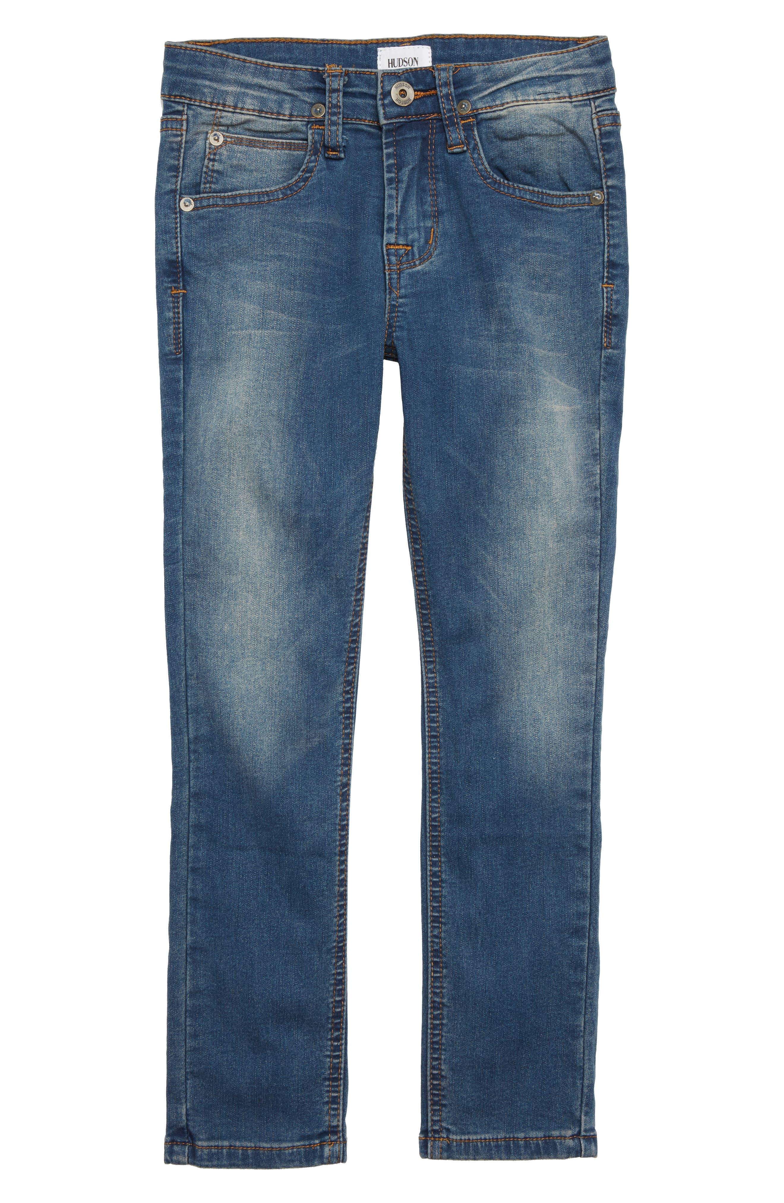 HUDSON KIDS,                             Jagger Slim Fit Straight Leg Jeans,                             Main thumbnail 1, color,                             458
