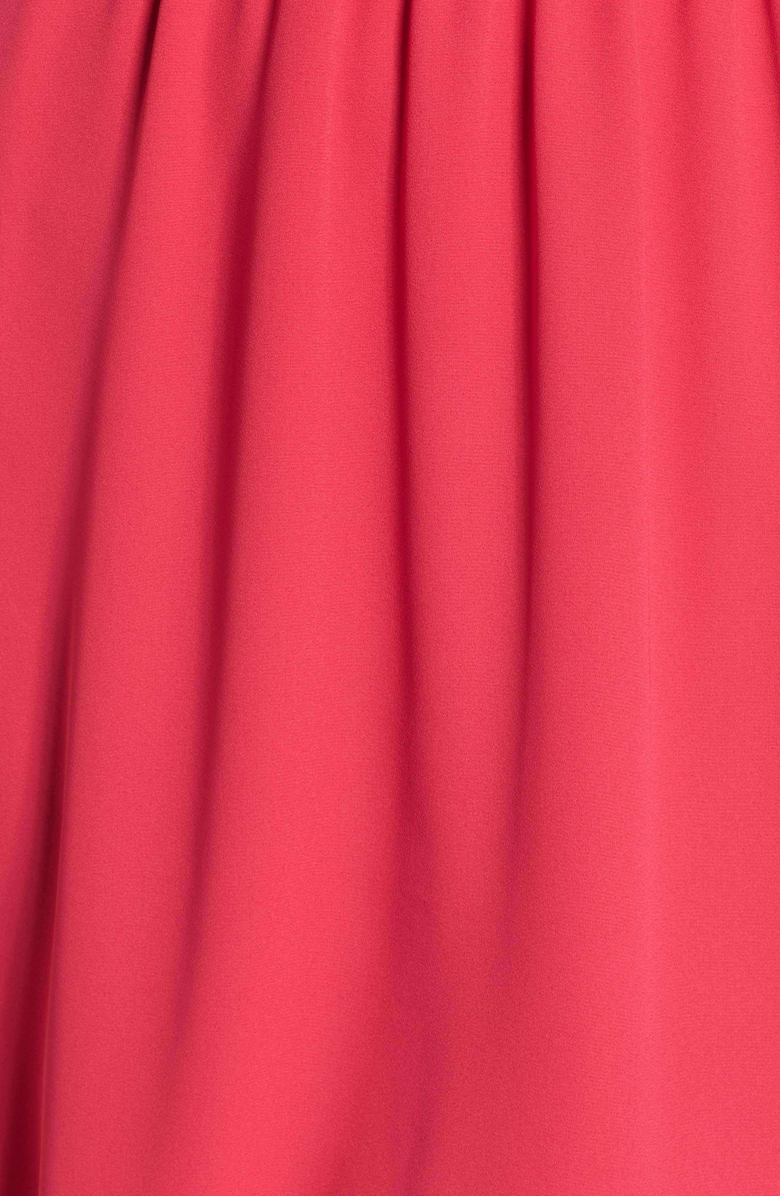 Blouson Chiffon Skater Dress,                             Alternate thumbnail 225, color,