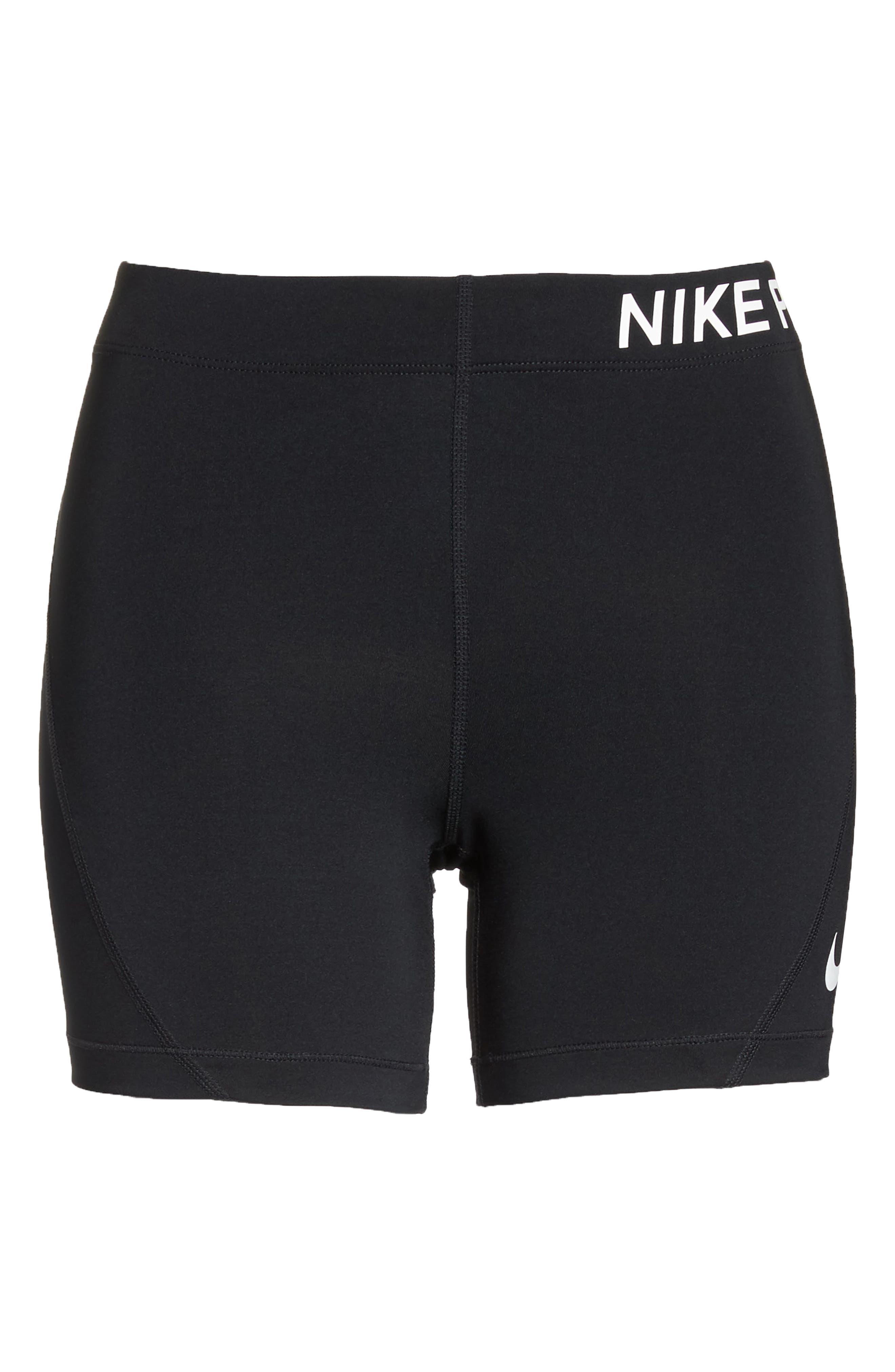 NIKE,                             Pro Training Shorts,                             Alternate thumbnail 7, color,                             011