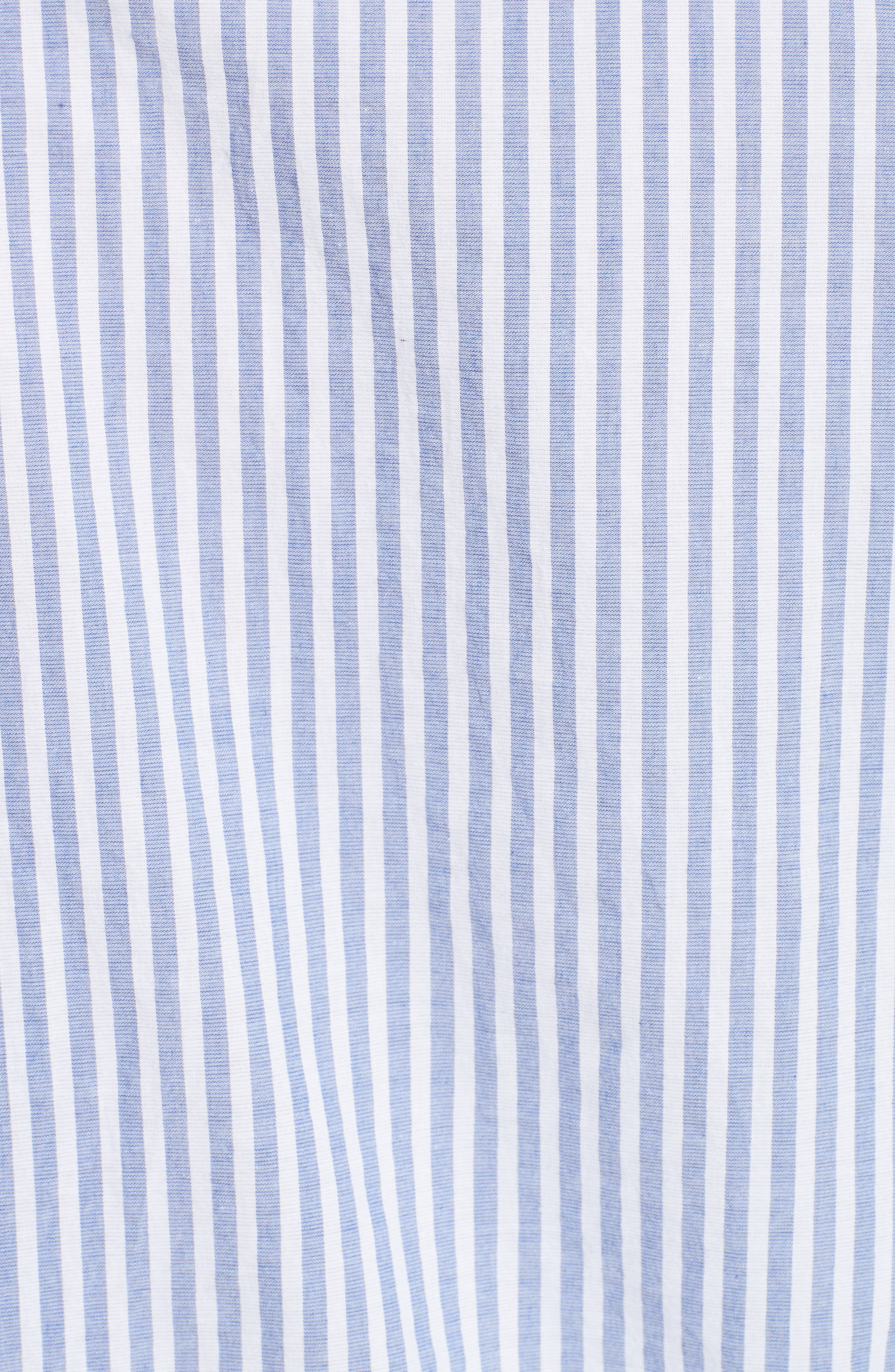 Benfleet Stripe Cotton Top,                             Alternate thumbnail 5, color,                             456