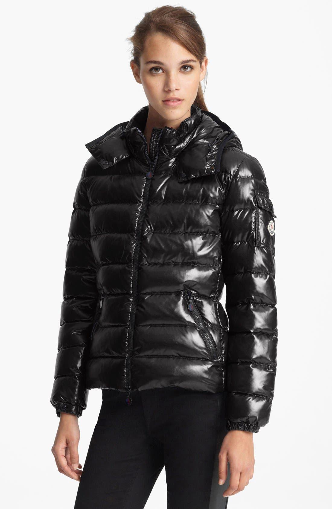 'Bady' Short Down Coat, Main, color, 001