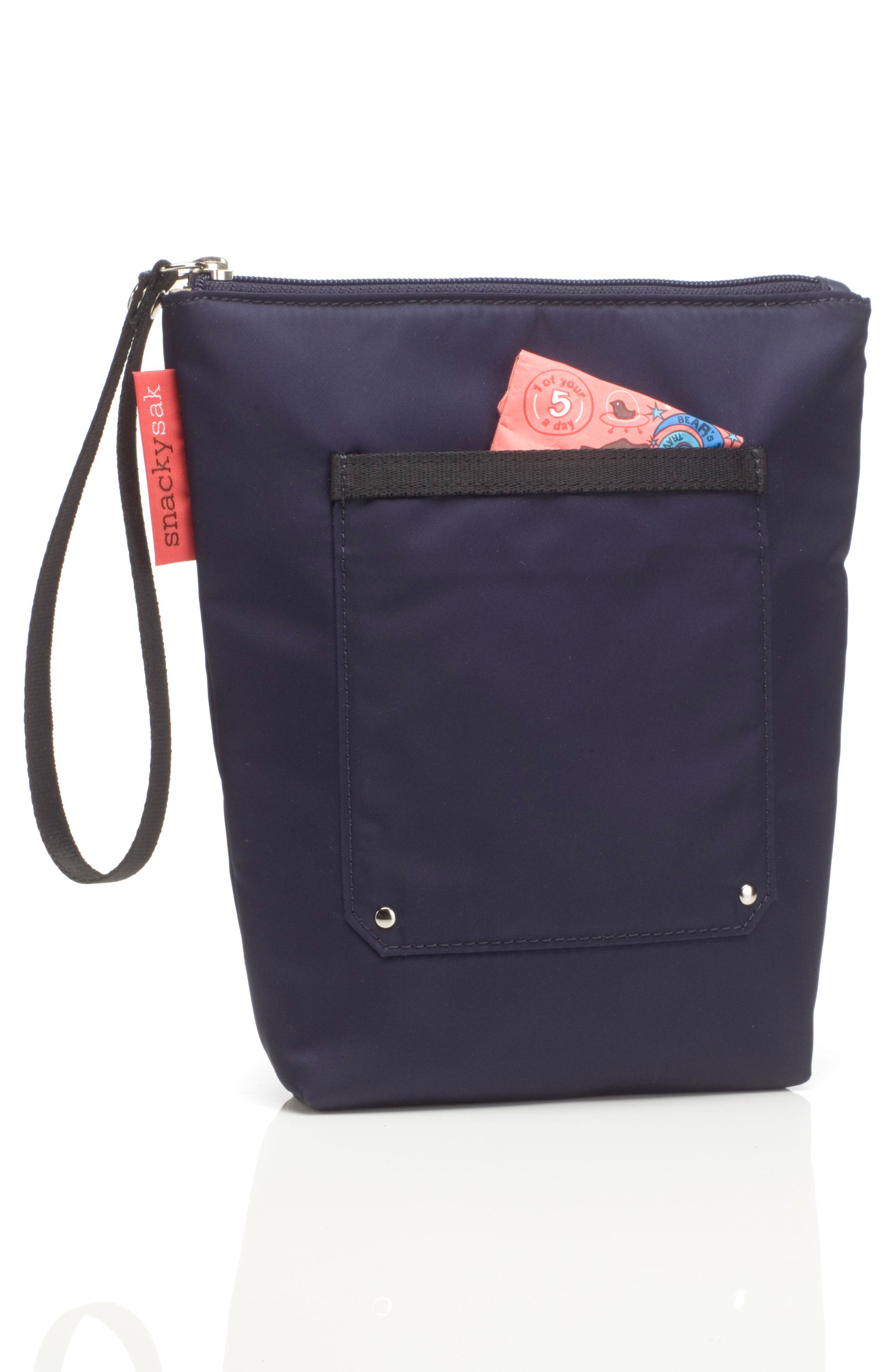 Storsak Alexa Diaper Bag,                             Alternate thumbnail 5, color,                             NAVY