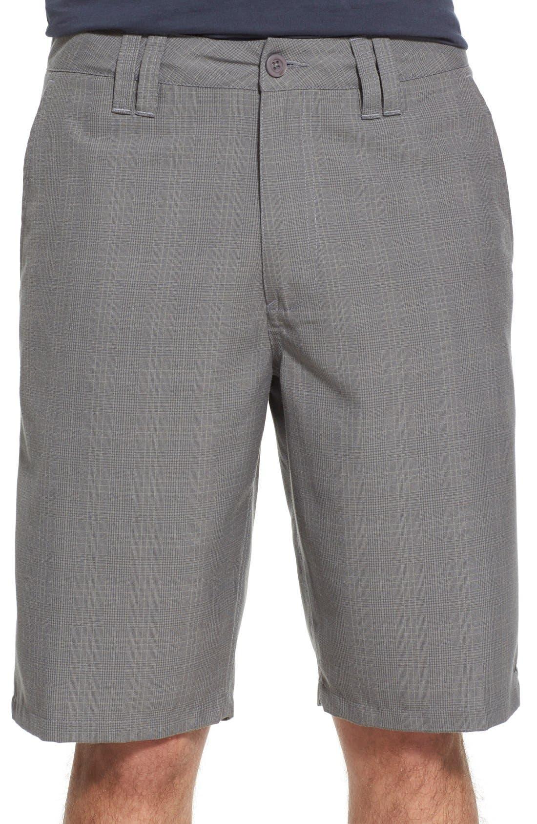 'Delta Plaid' Chino Shorts,                             Main thumbnail 2, color,