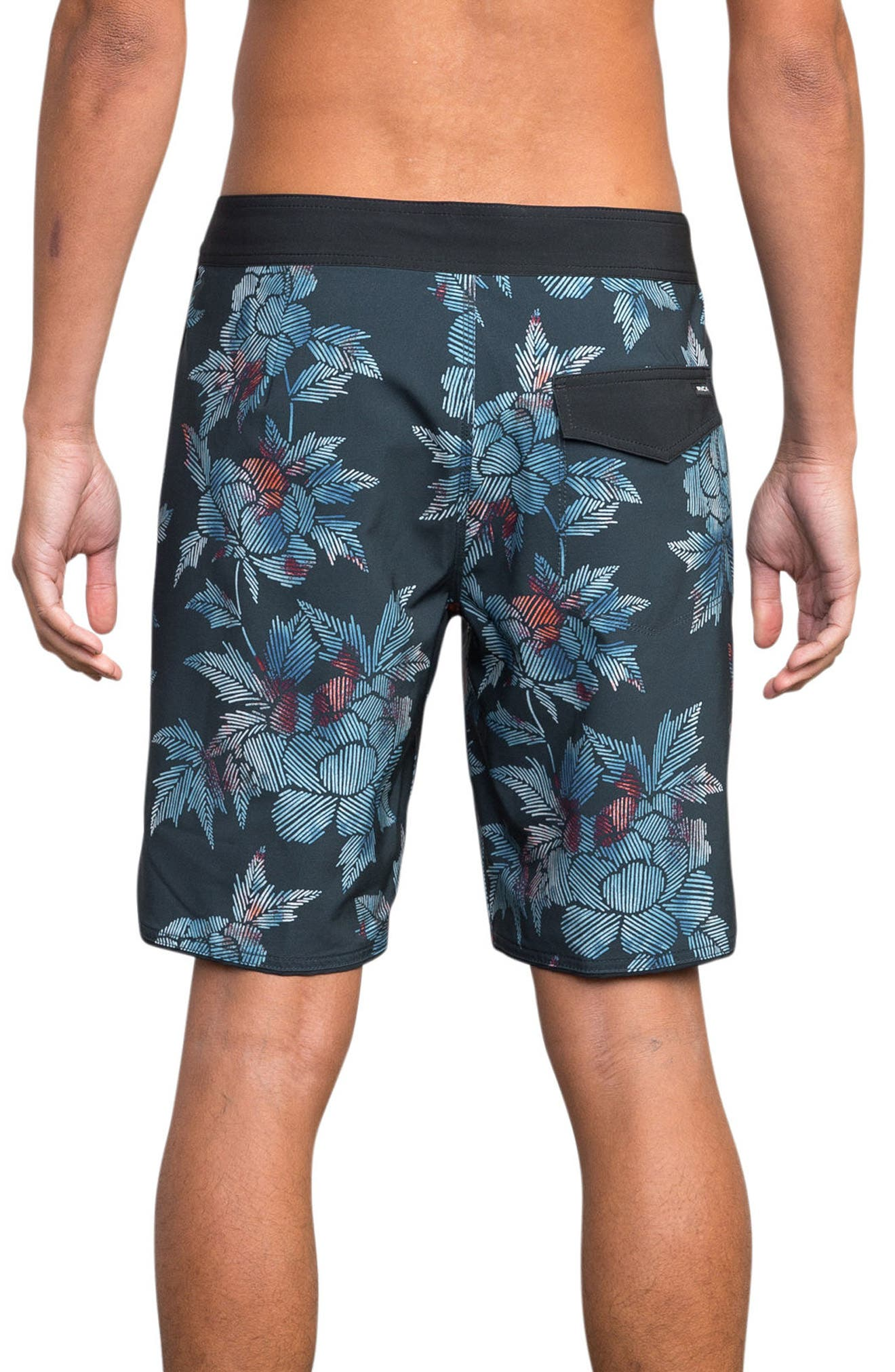 Bora Swim Trunks,                             Alternate thumbnail 2, color,                             020