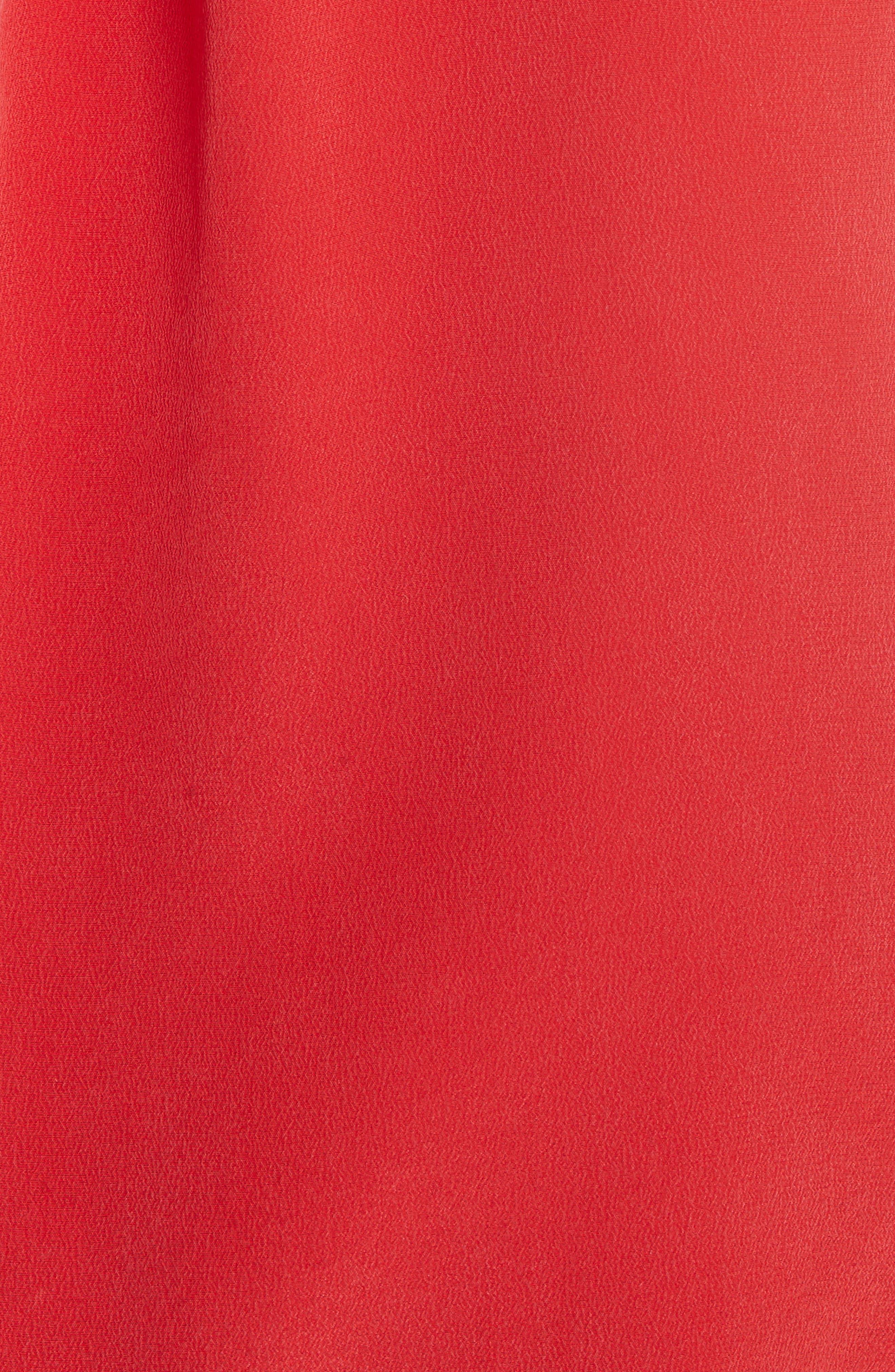 Essential Silk Blouse,                             Alternate thumbnail 5, color,                             600