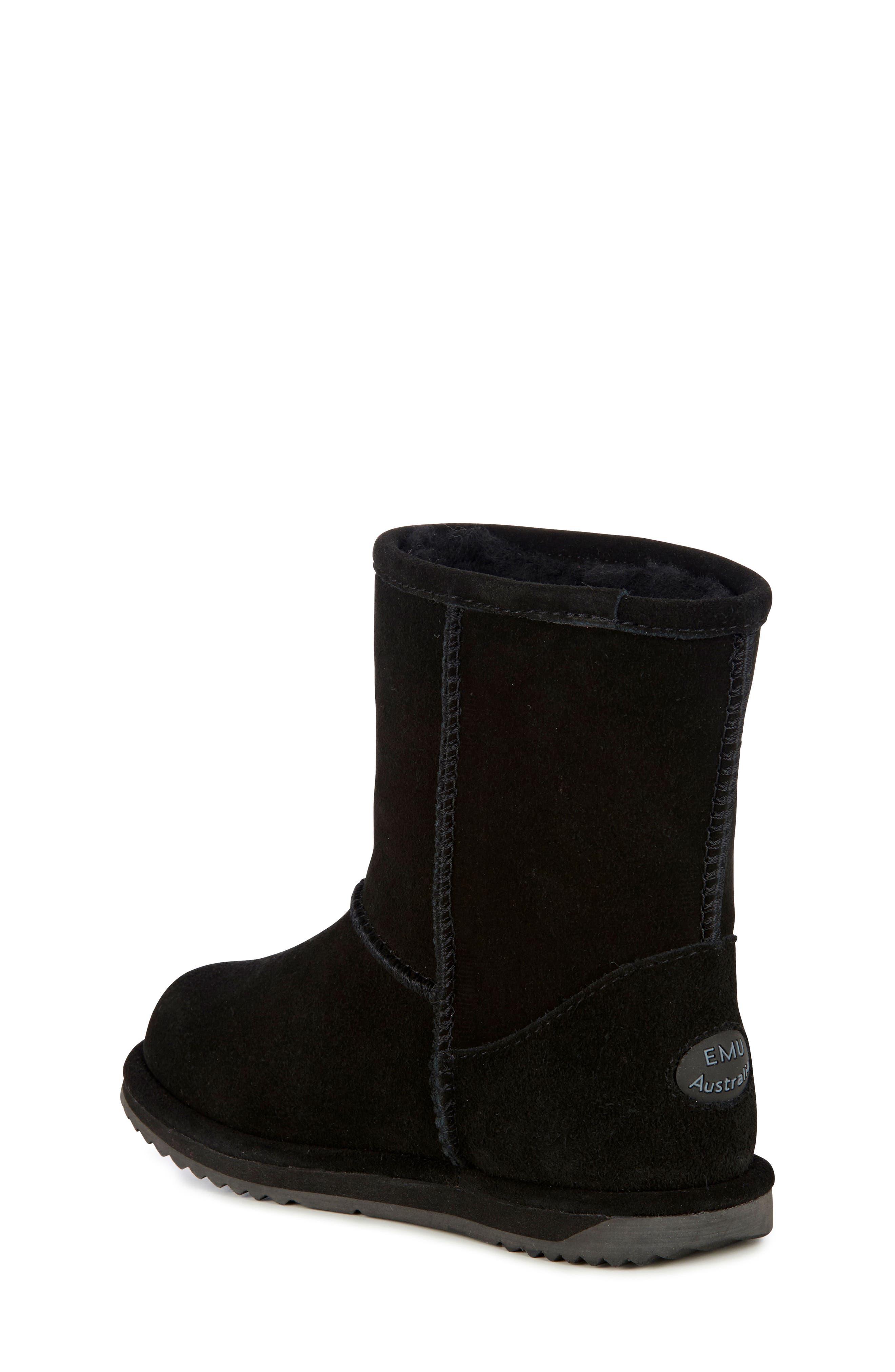 Brumby Waterproof Boot,                             Alternate thumbnail 2, color,                             BLACK SUEDE