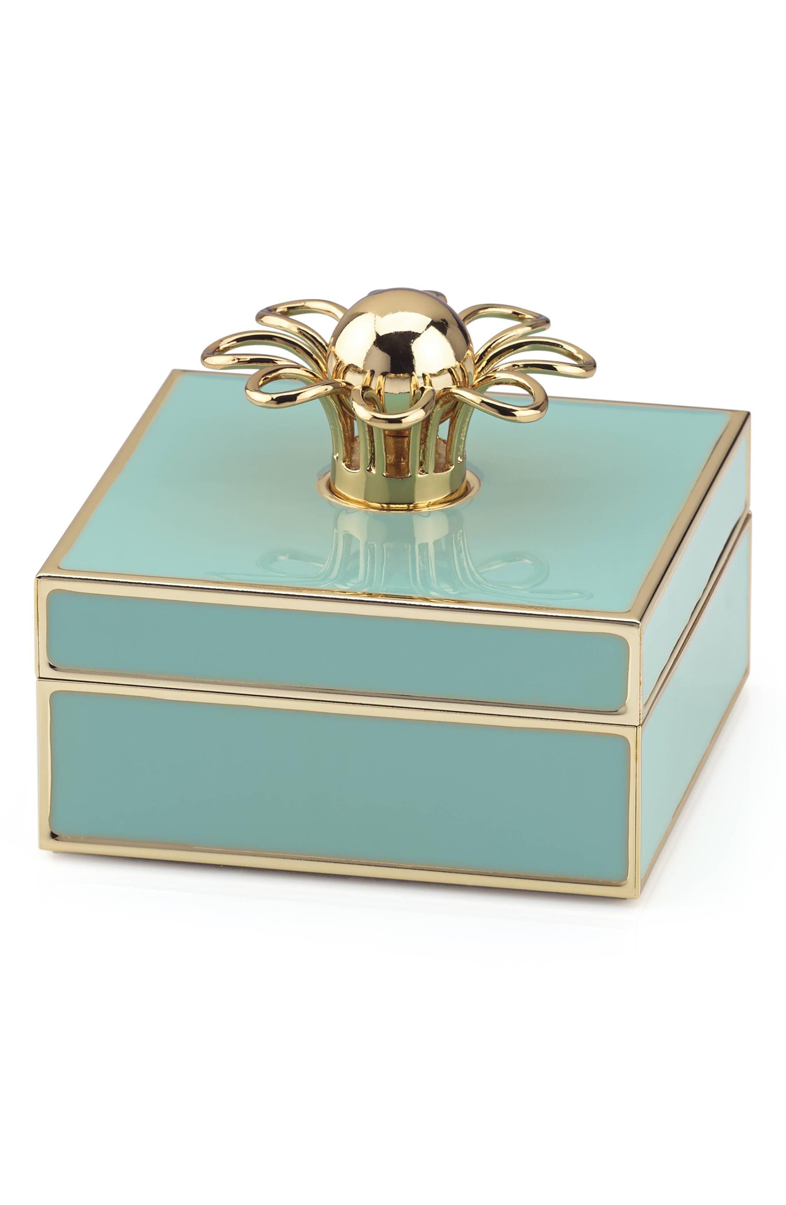 keaton porcelain jewelry box,                             Main thumbnail 1, color,                             440