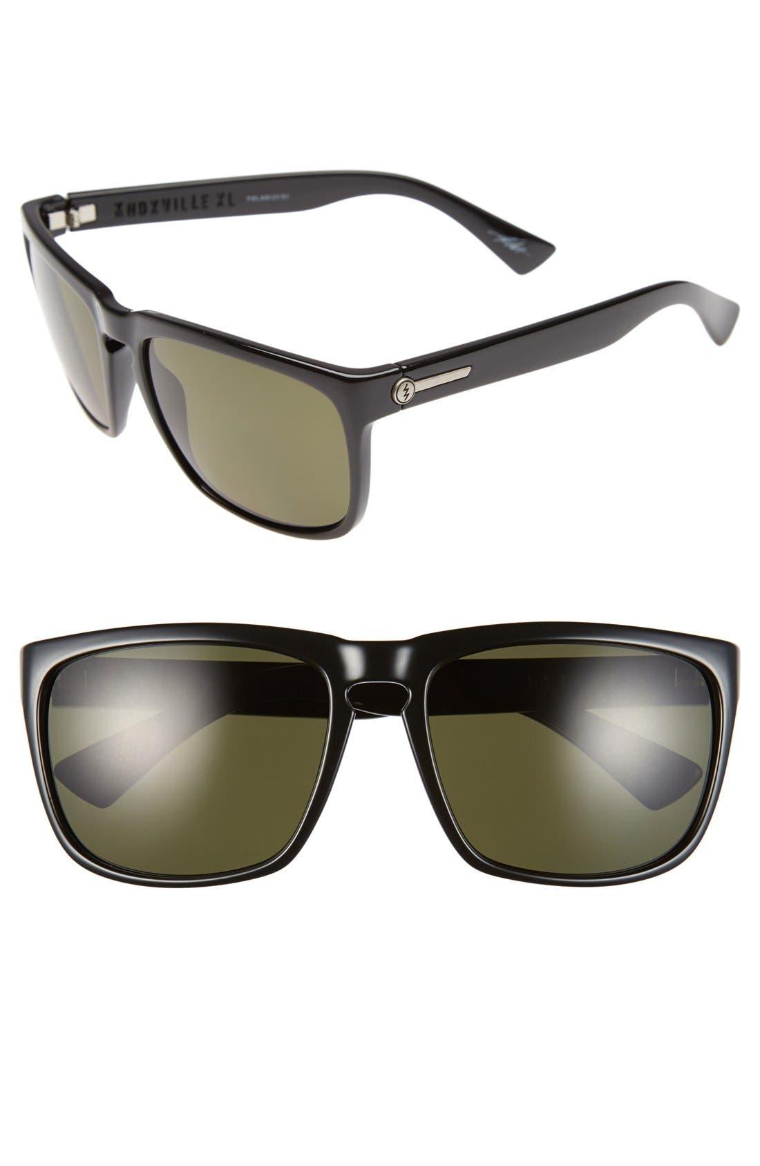 'Knoxville XL' 61mm Polarized Sunglasses,                             Main thumbnail 1, color,                             002