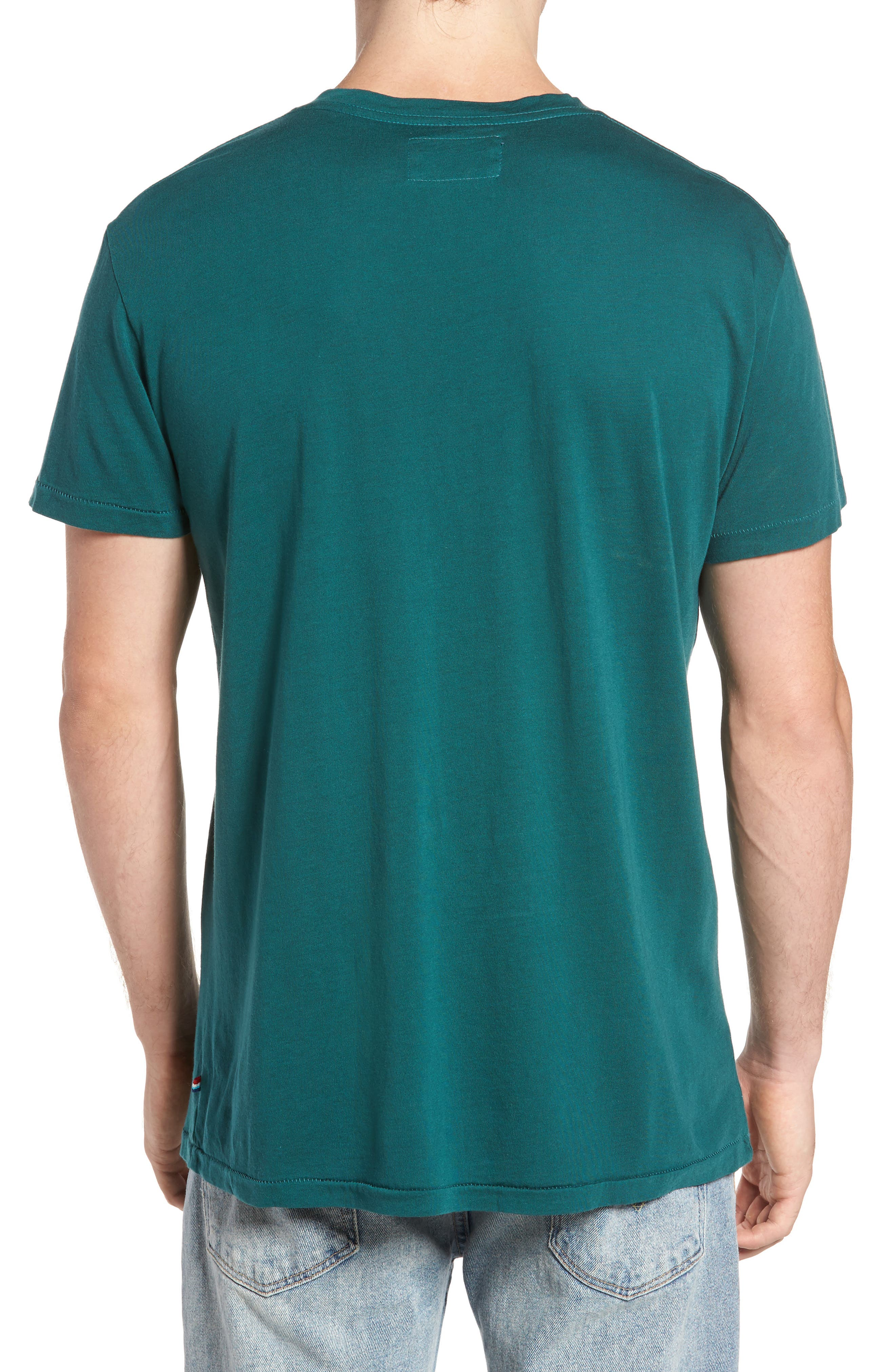 Essential V-Neck T-Shirt,                             Alternate thumbnail 2, color,                             340