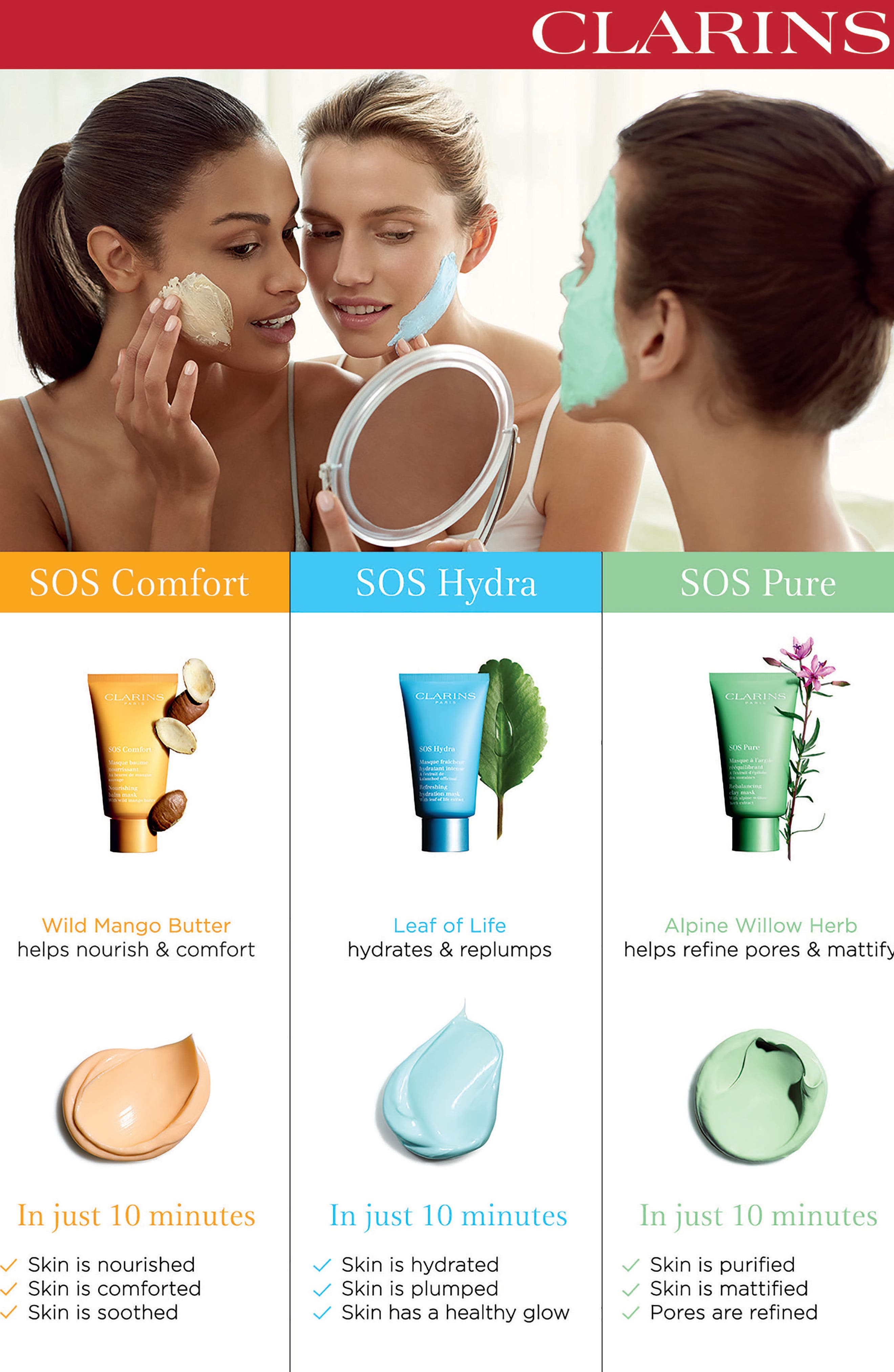 SOS Pure Mask,                             Alternate thumbnail 6, color,                             NO COLOR