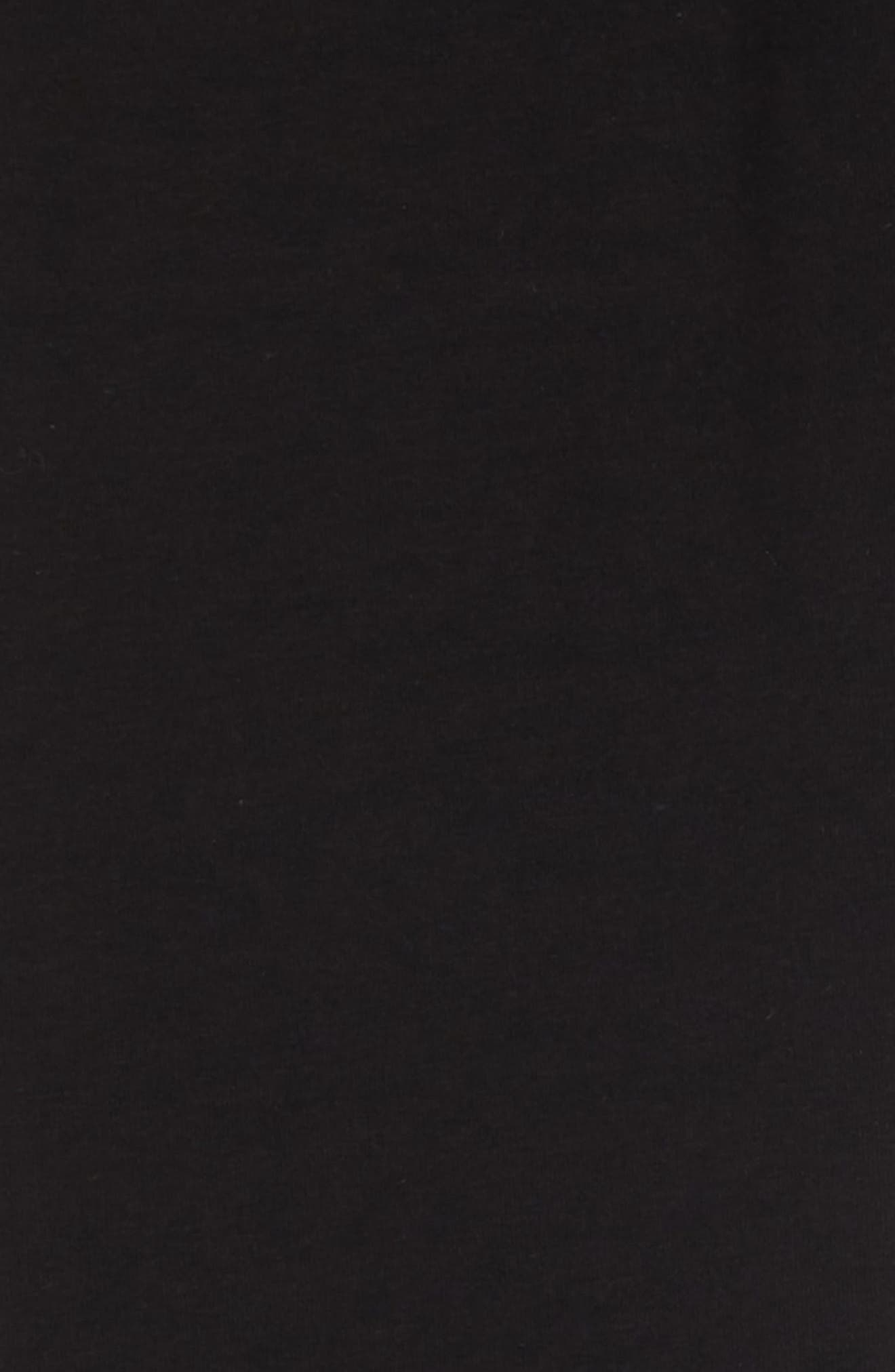 Sportswear Swoosh Leggings,                             Alternate thumbnail 2, color,                             BLACK/ WHITE