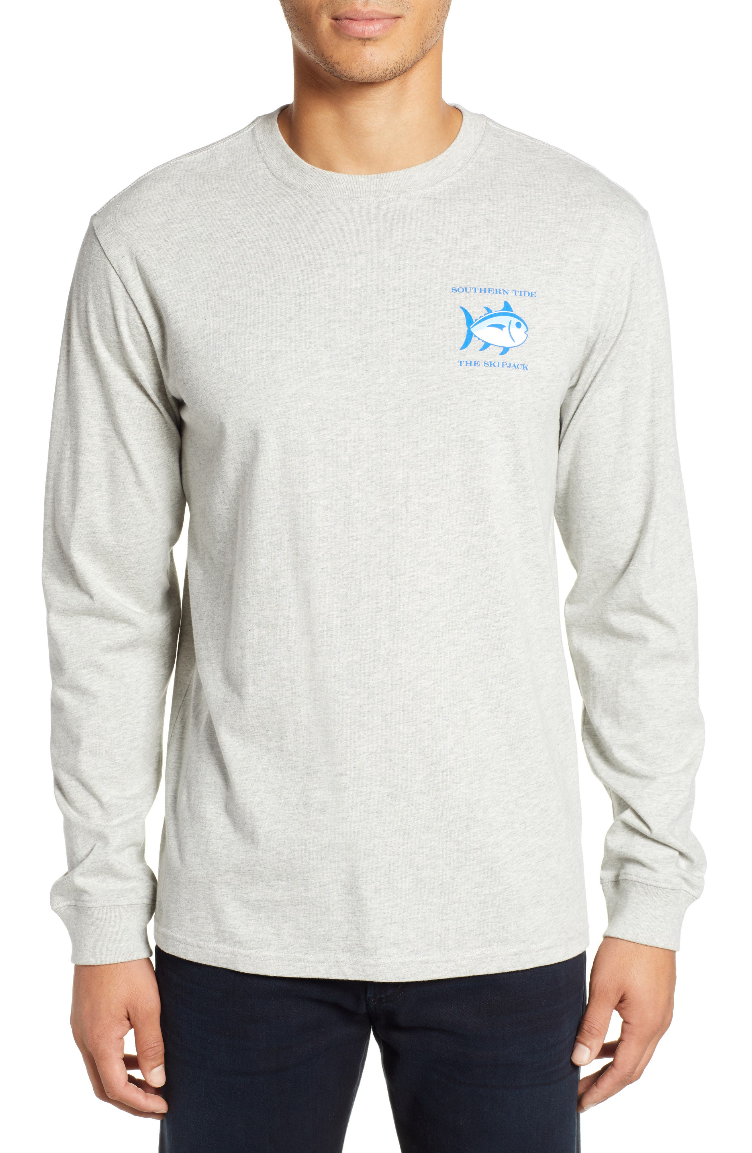 Original Skipjack T-Shirt,                         Main,                         color, LIGHT GREY