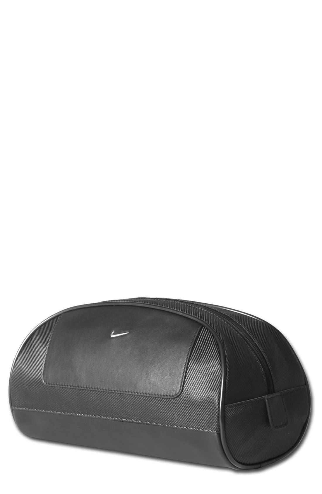 Leather Travel Kit,                             Main thumbnail 1, color,