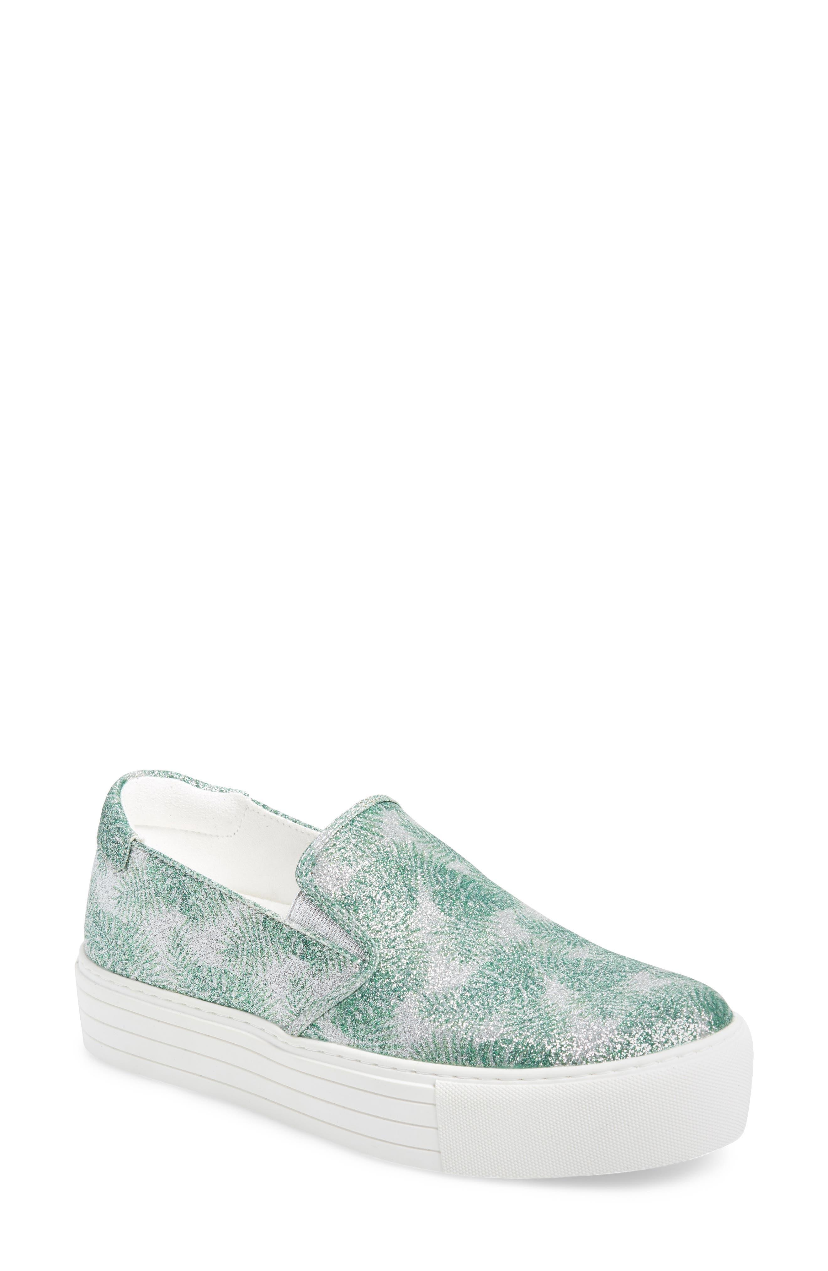 Joanie Slip-On Platform Sneaker,                             Main thumbnail 3, color,