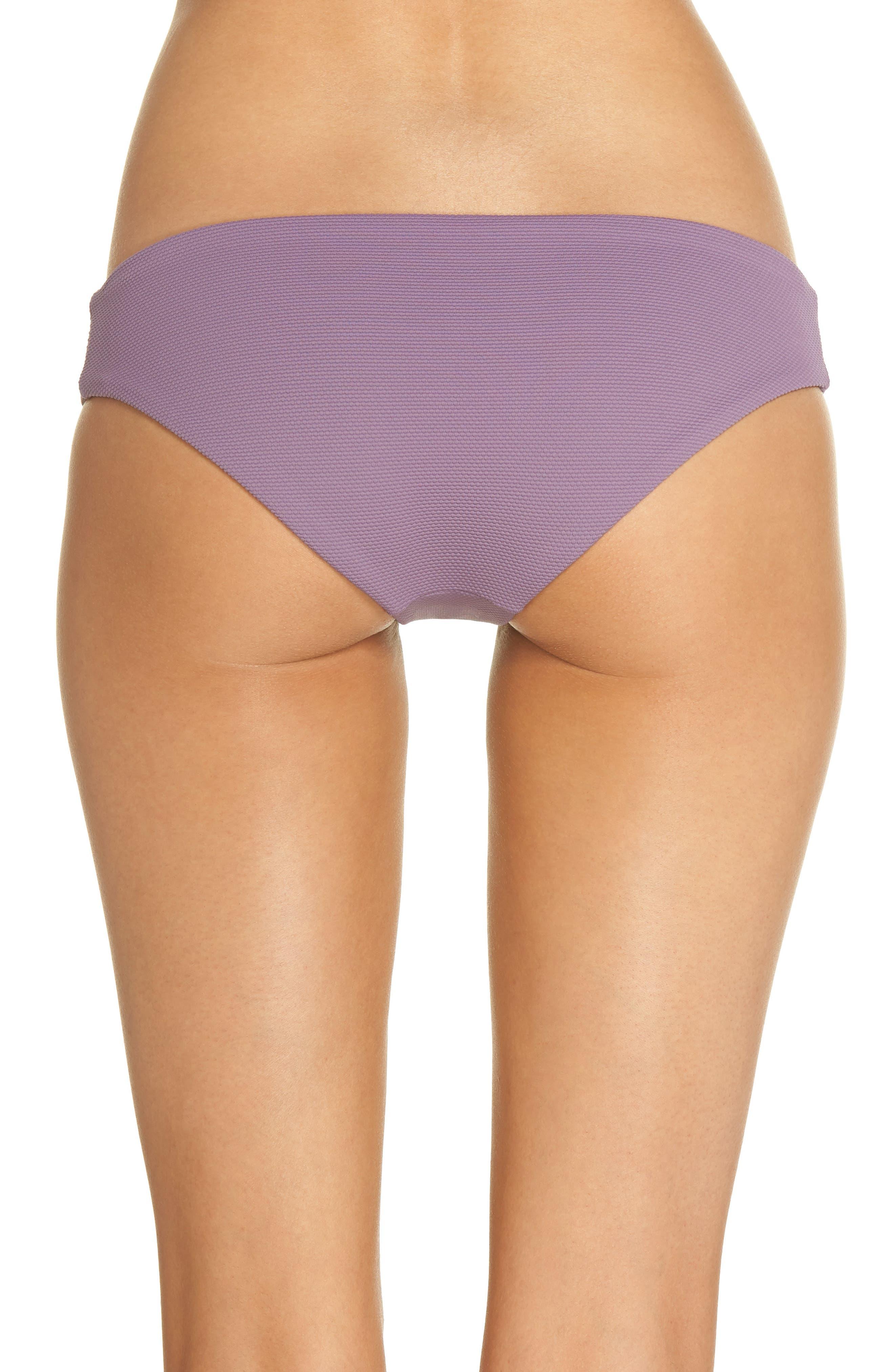 Purple Sage Sublime Signature Reversible Bikini Bottoms,                             Alternate thumbnail 3, color,