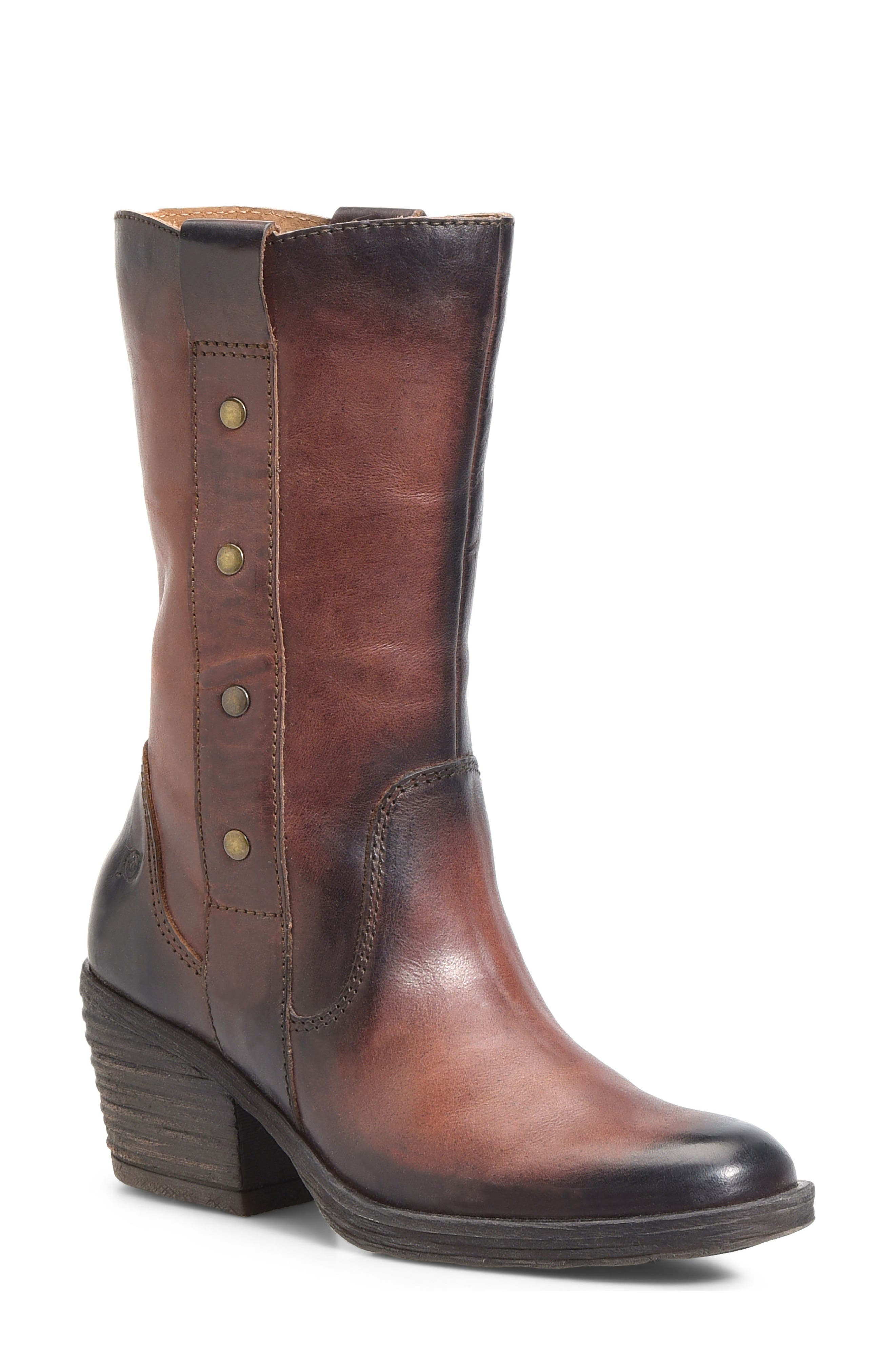 Copper Studded Boot,                             Main thumbnail 1, color,                             200