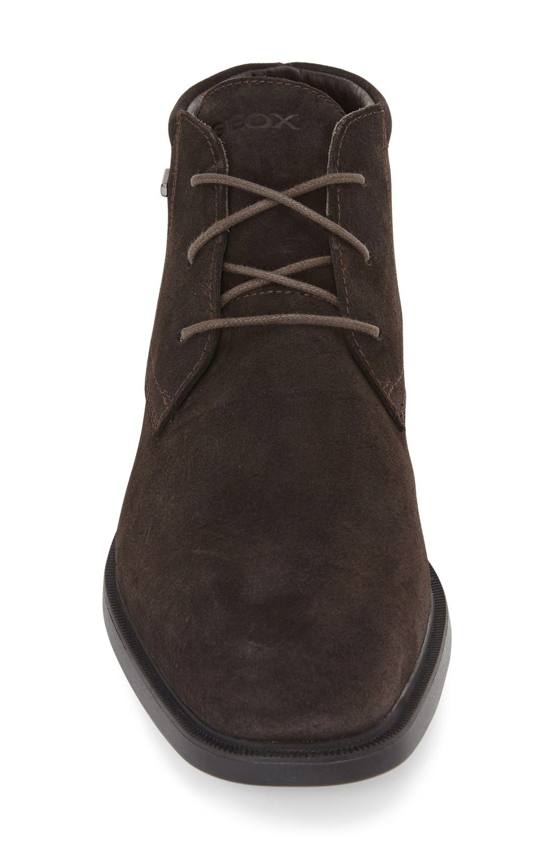 'Brayden - ABX' Amphibiox<sup>®</sup> Waterproof Oxford,                             Alternate thumbnail 3, color,                             COFFEE