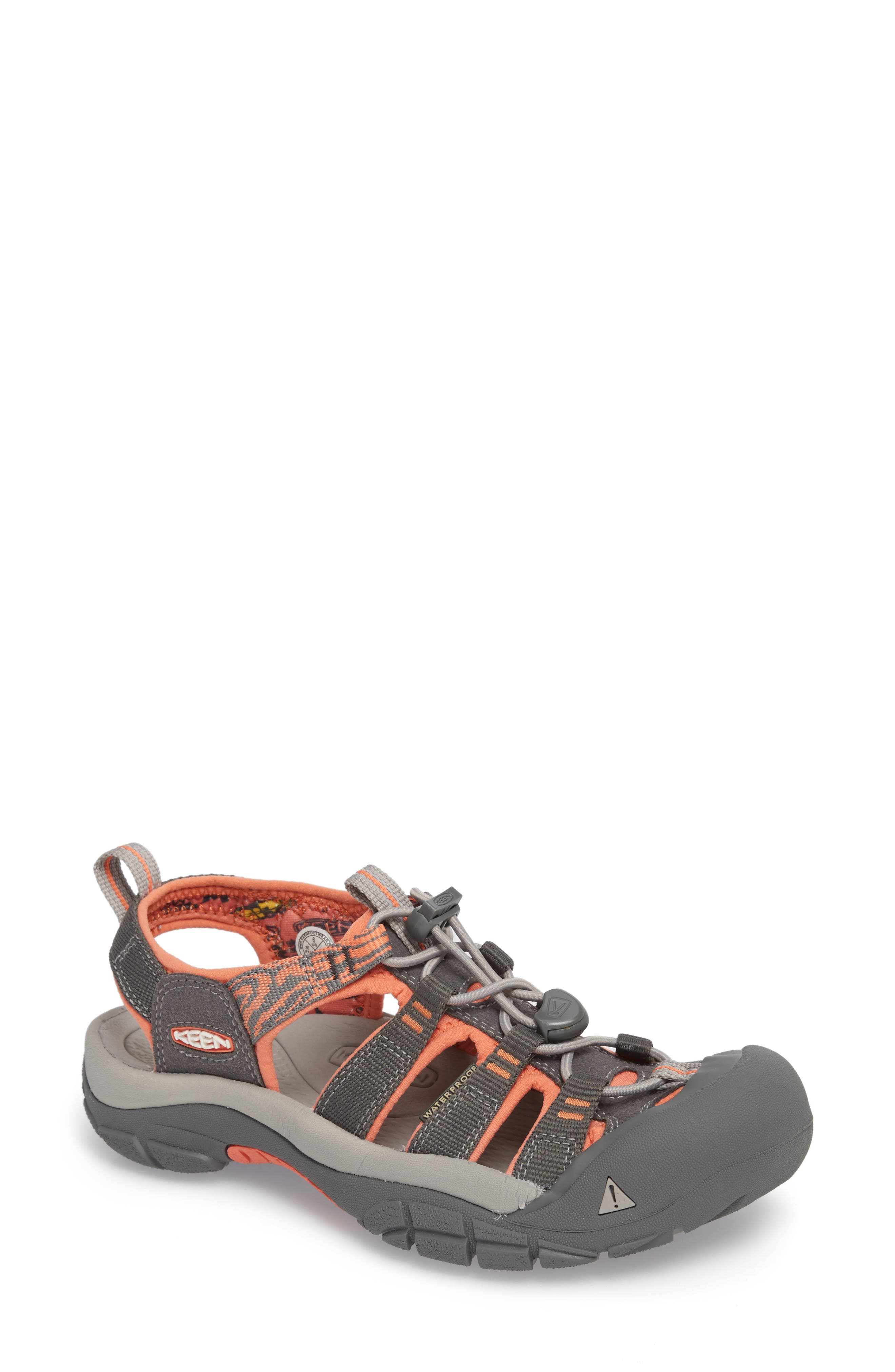 Newport Hydro Sandal,                         Main,                         color, MAGNET/ CORAL