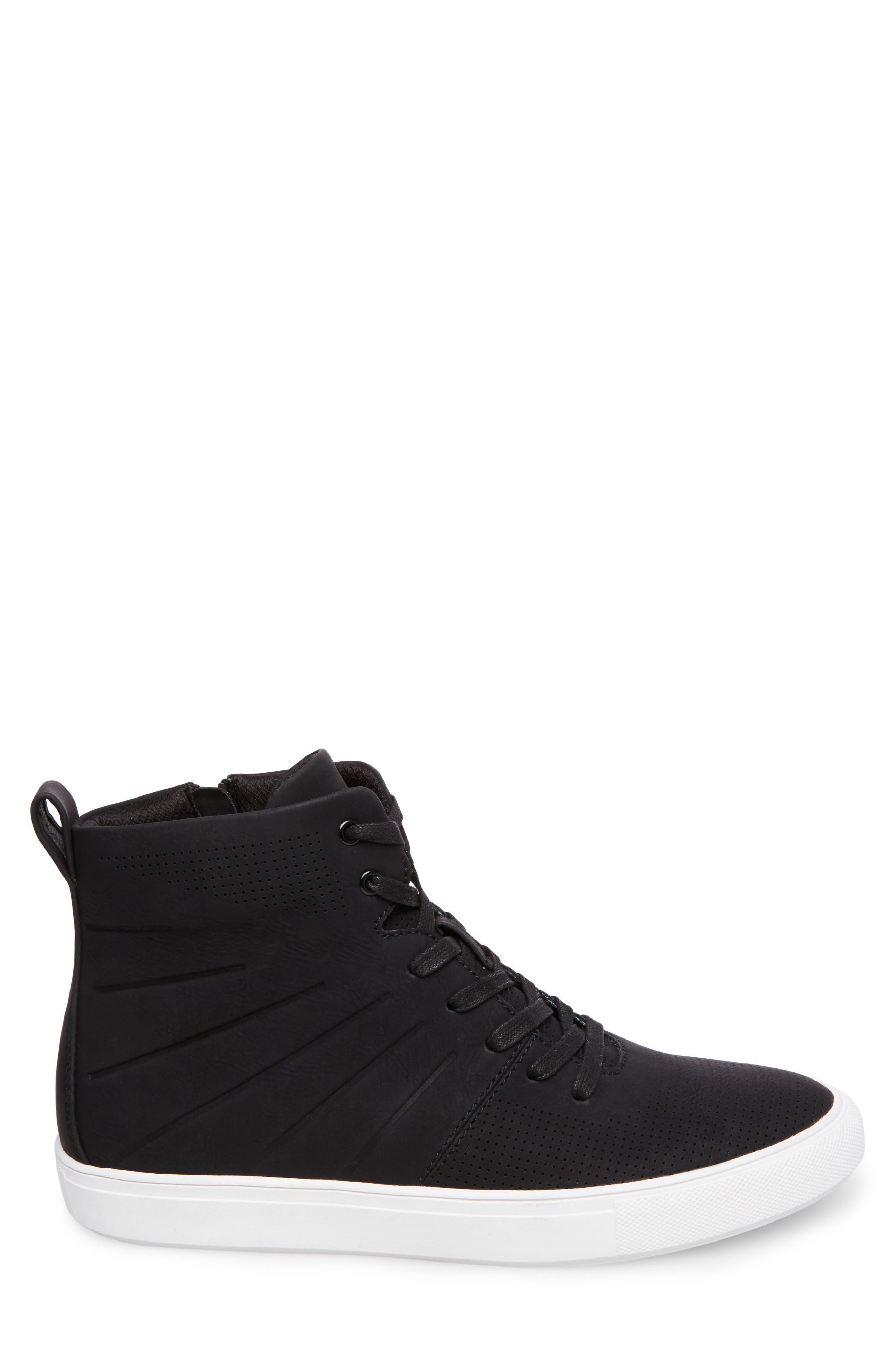 Eskape Sneaker,                             Alternate thumbnail 3, color,                             BLACK