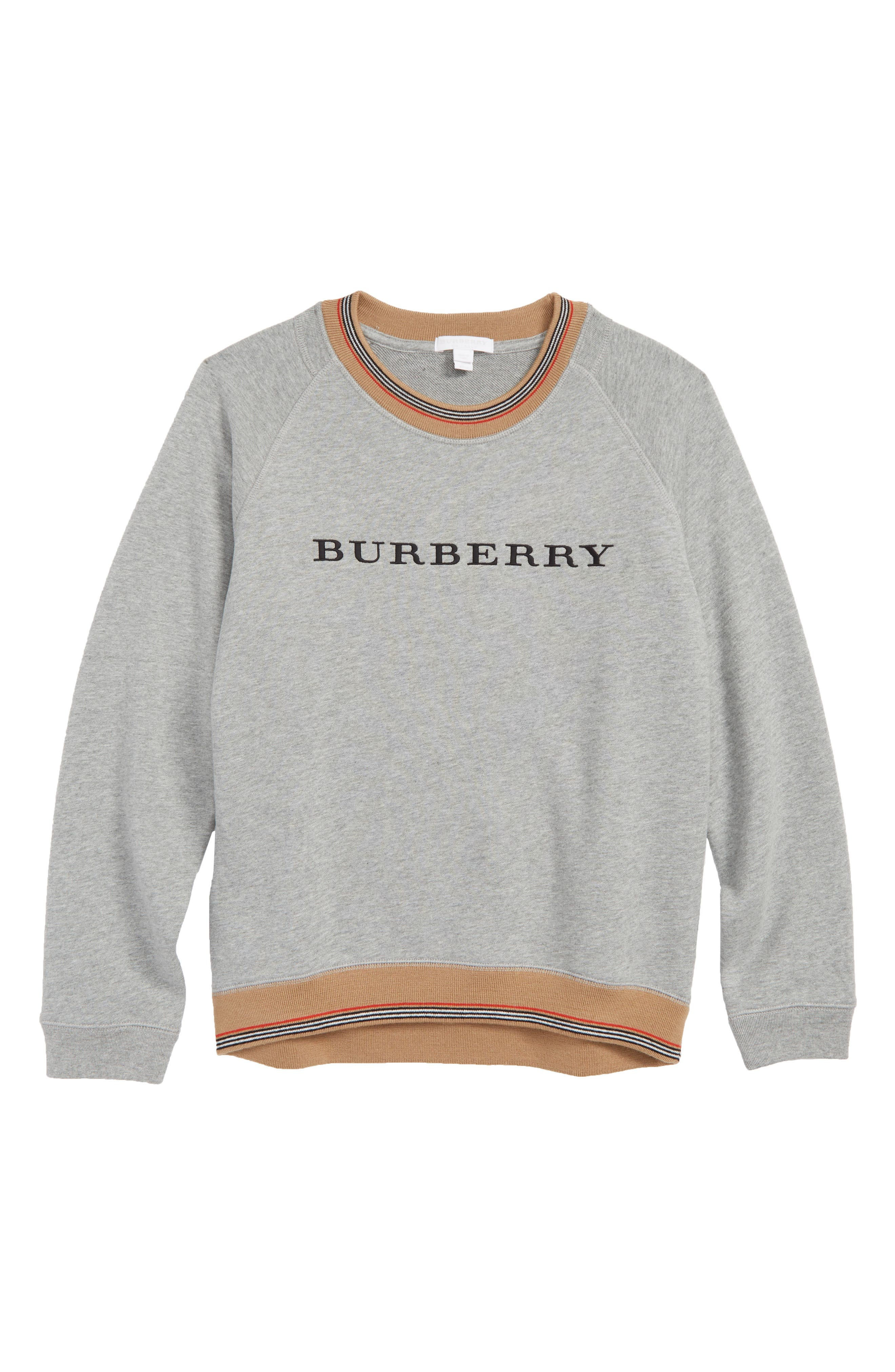 Hectore Stripe Sweater,                         Main,                         color, GREY MELANGE