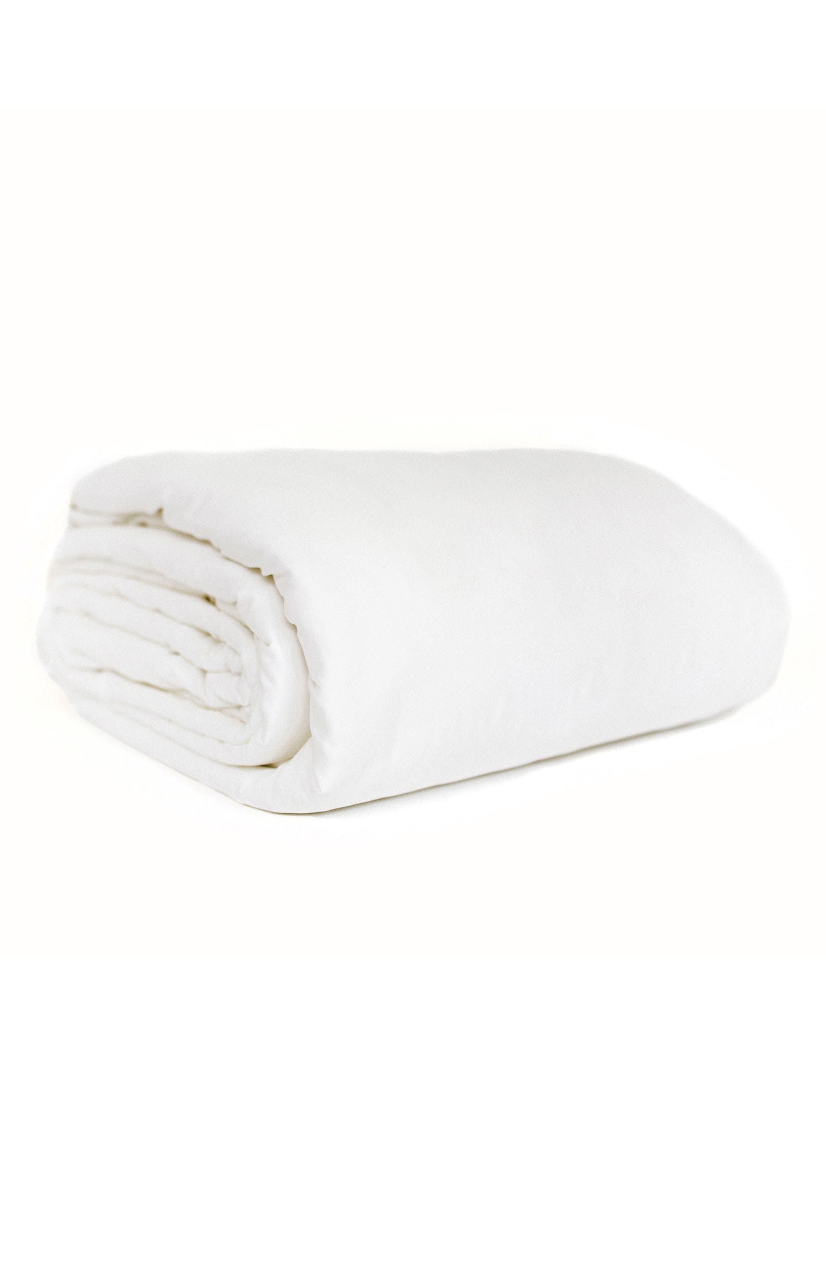 Comforter,                             Main thumbnail 1, color,                             WHITE