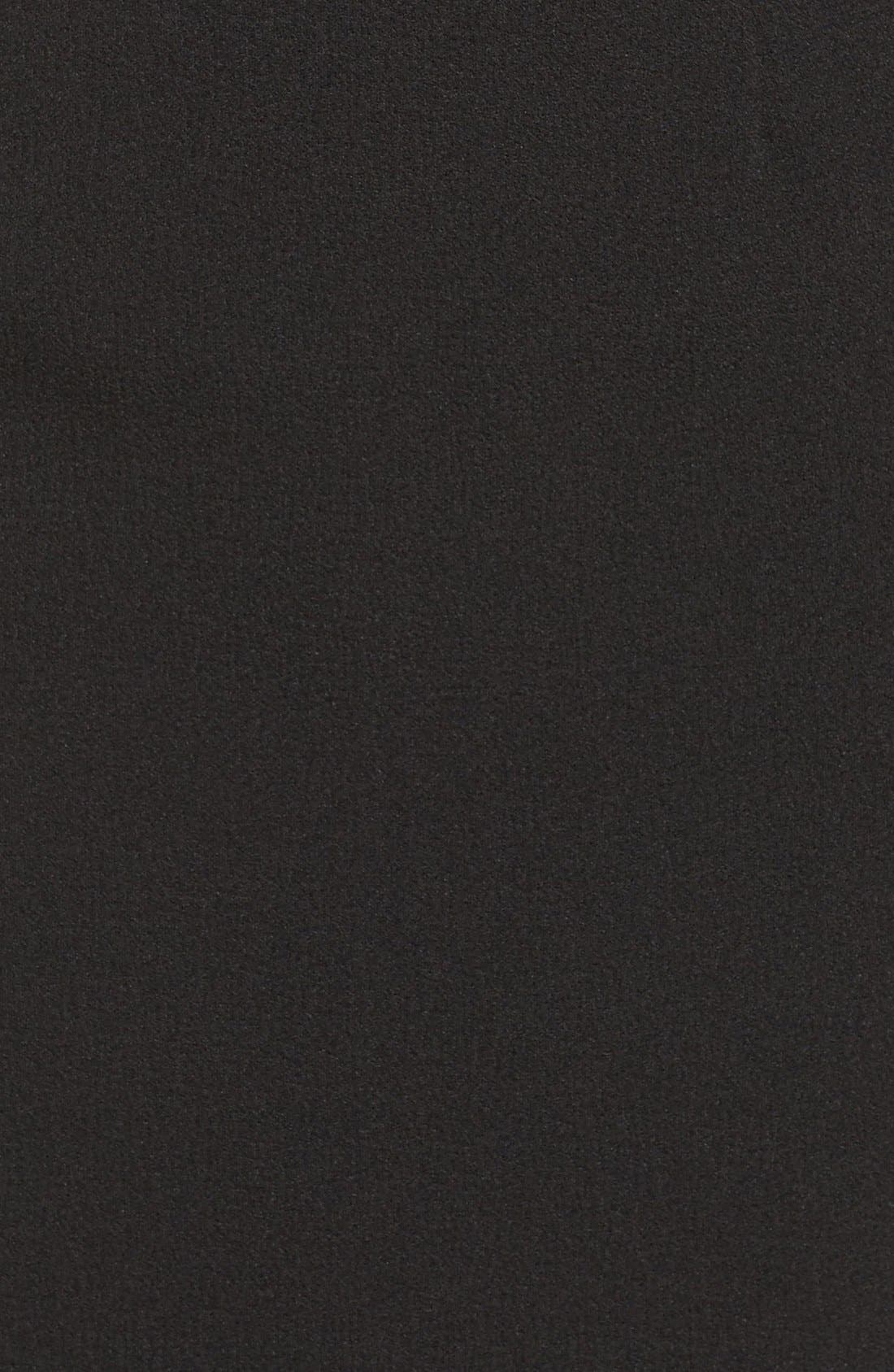 Illusion Sleeve Blouson Dress,                             Alternate thumbnail 5, color,