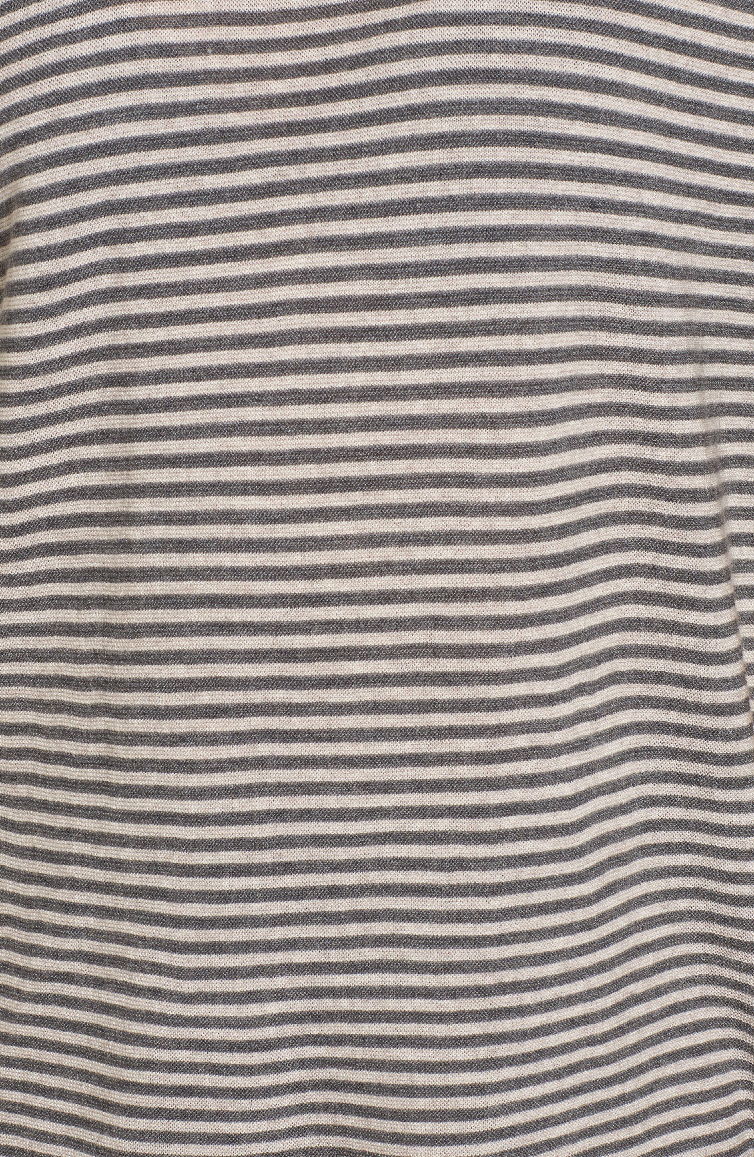 Stripe Merino Wool Tunic,                             Alternate thumbnail 10, color,