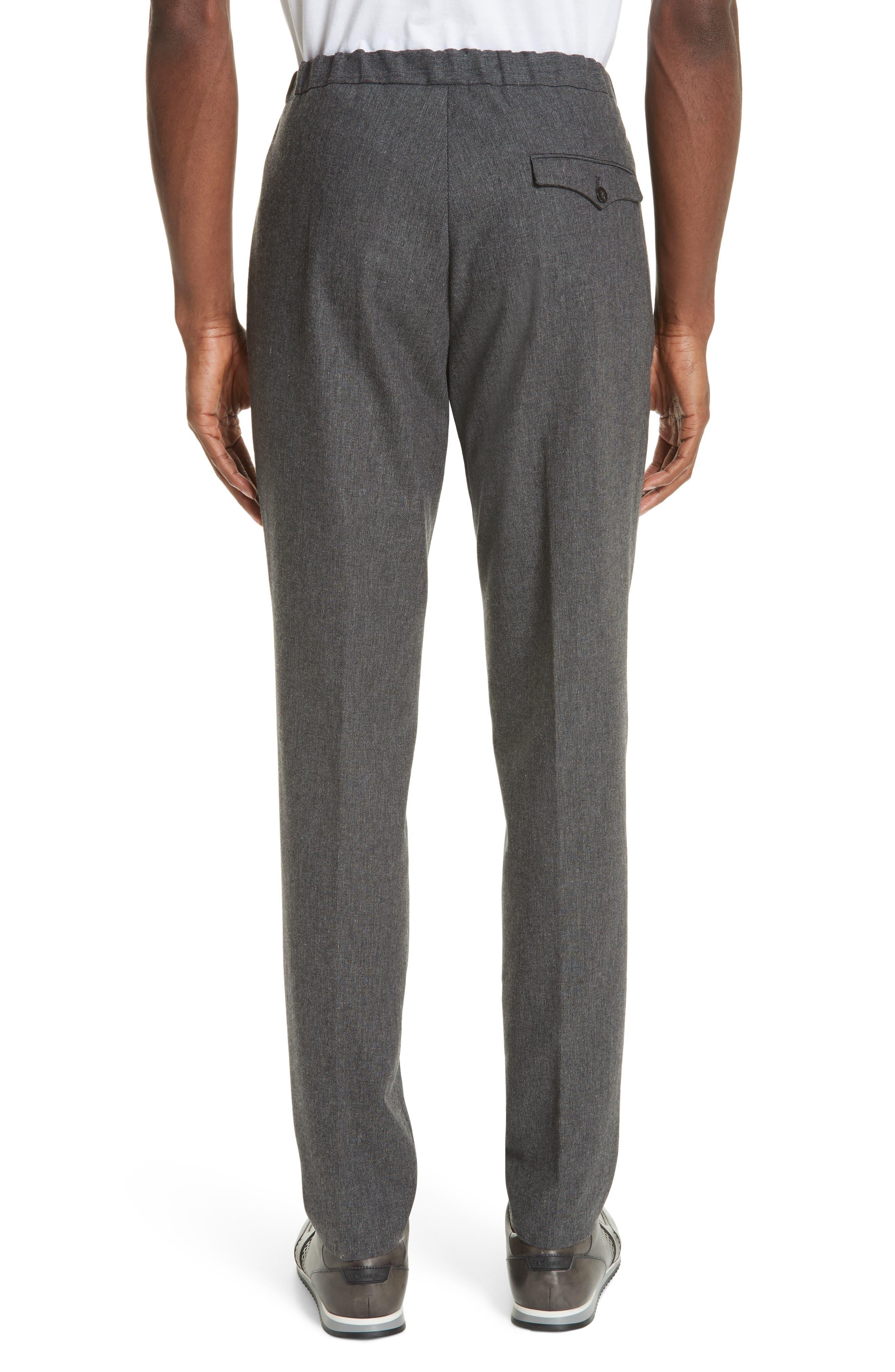 Trim Fit Sport Trousers,                             Alternate thumbnail 2, color,                             CHARCOAL