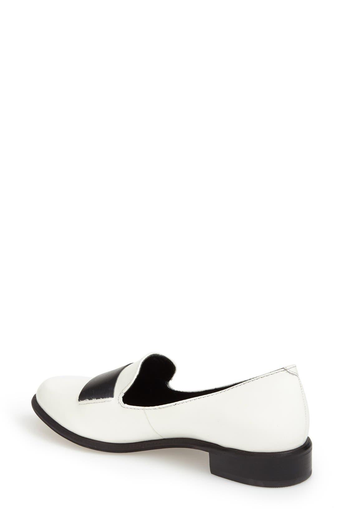 M4D3 'Ocean' Flat Loafer,                             Alternate thumbnail 7, color,