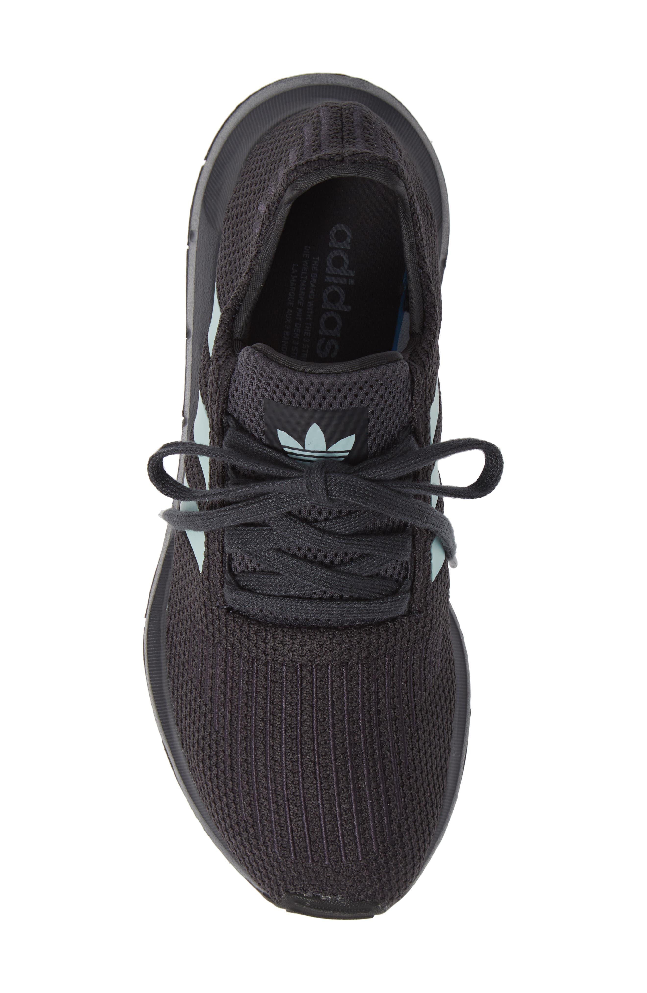 Swift Run Running Shoe,                             Alternate thumbnail 5, color,                             GREY/ GREEN/ BLACK