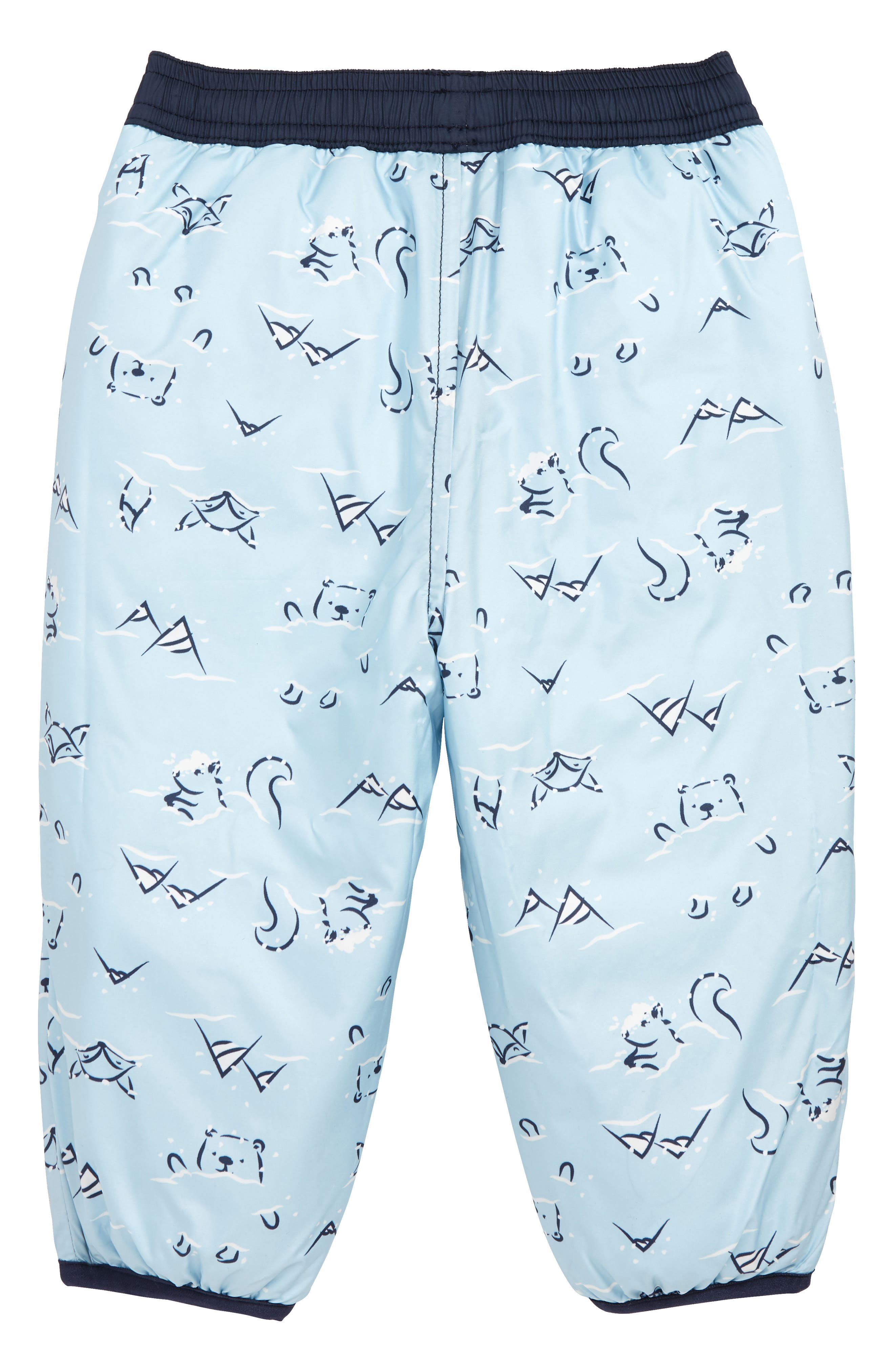 Perrito Reversible Water Repellent Insulated Snow Pants,                             Alternate thumbnail 2, color,                             COSMIC BLUE