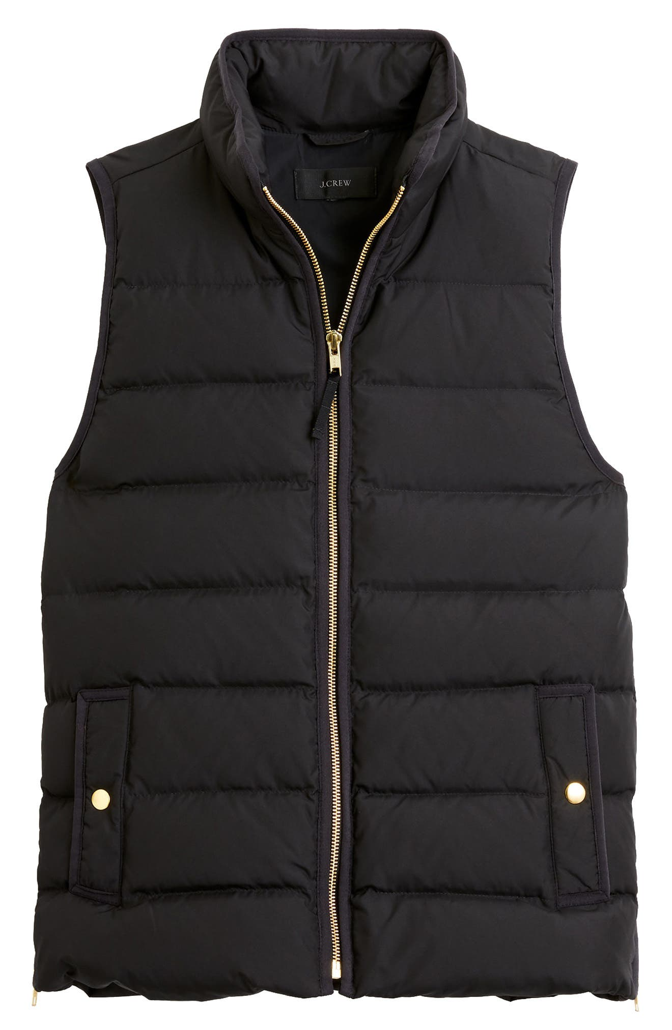 Anthem Down & Feather Fill Puffer Vest,                         Main,                         color, 001