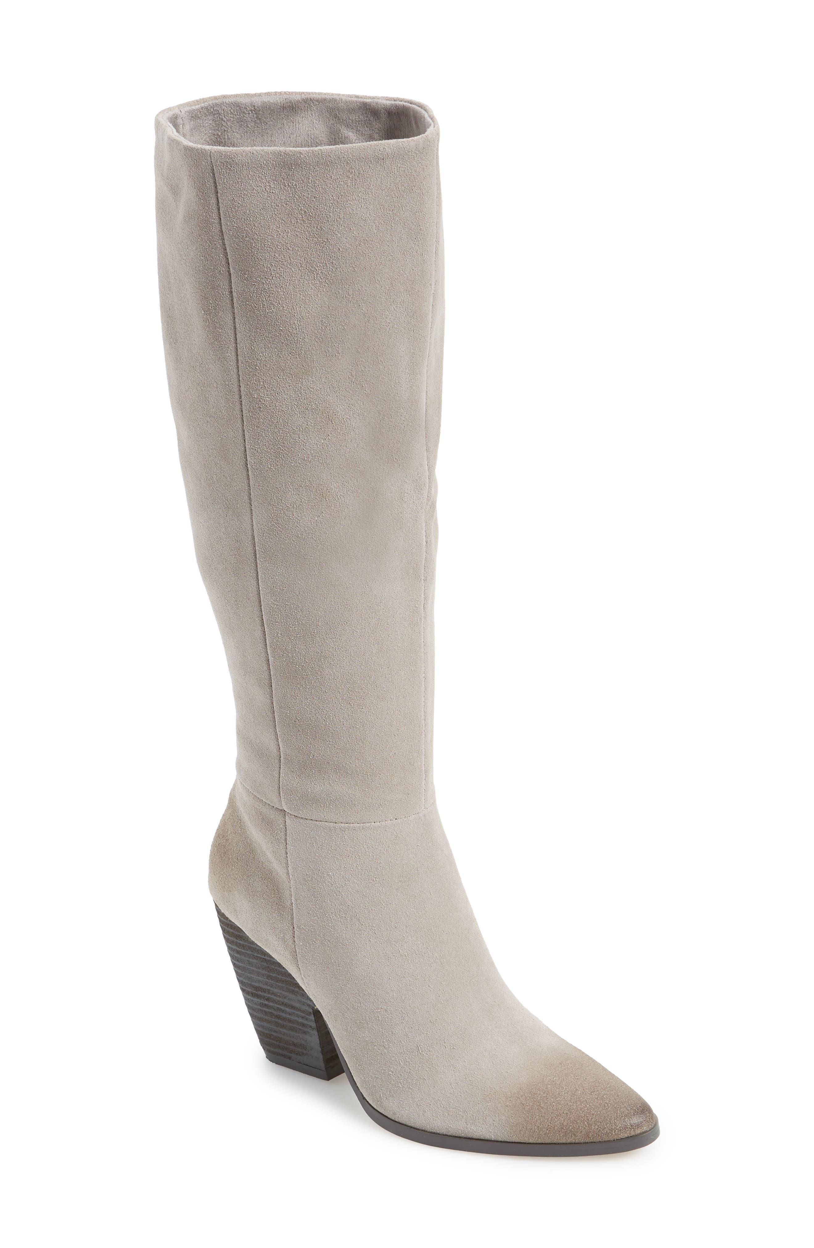 Charles By Charles David Nyles Knee High Boot, Grey