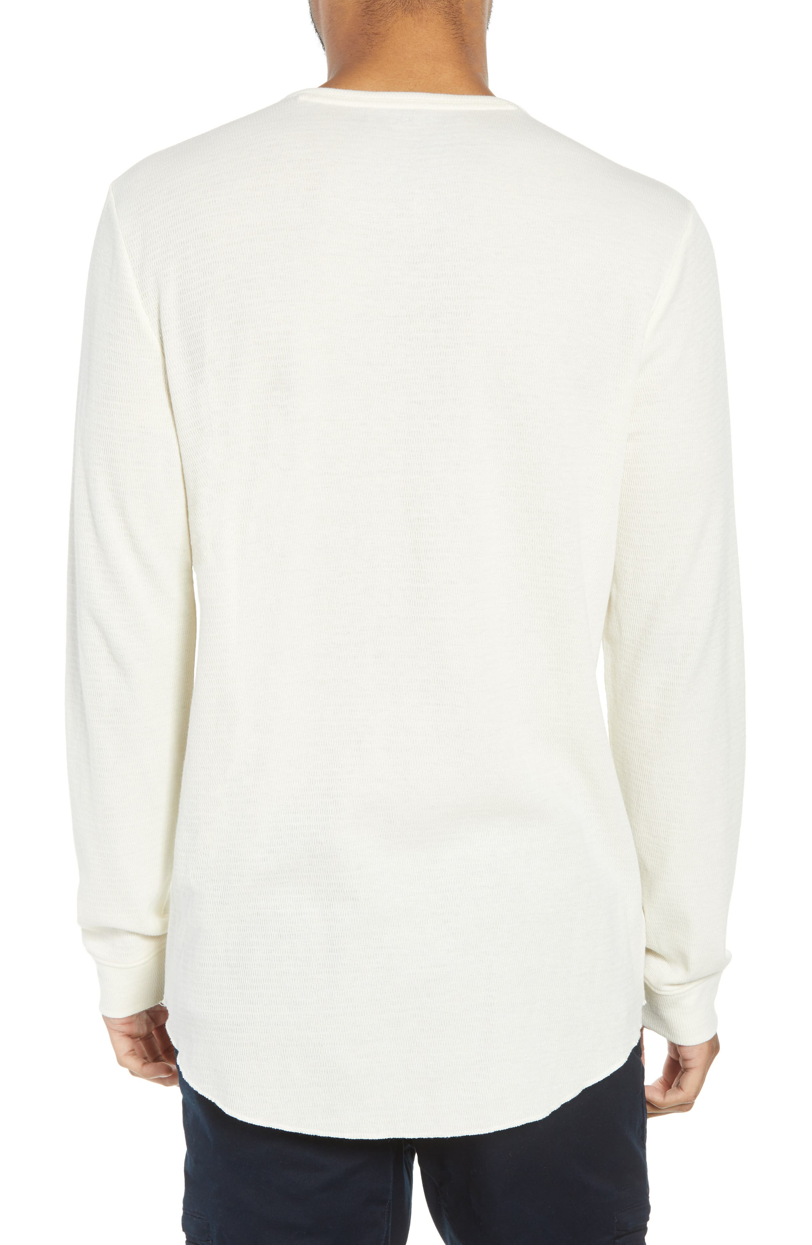 Longline Thermal Henley,                             Alternate thumbnail 2, color,                             900