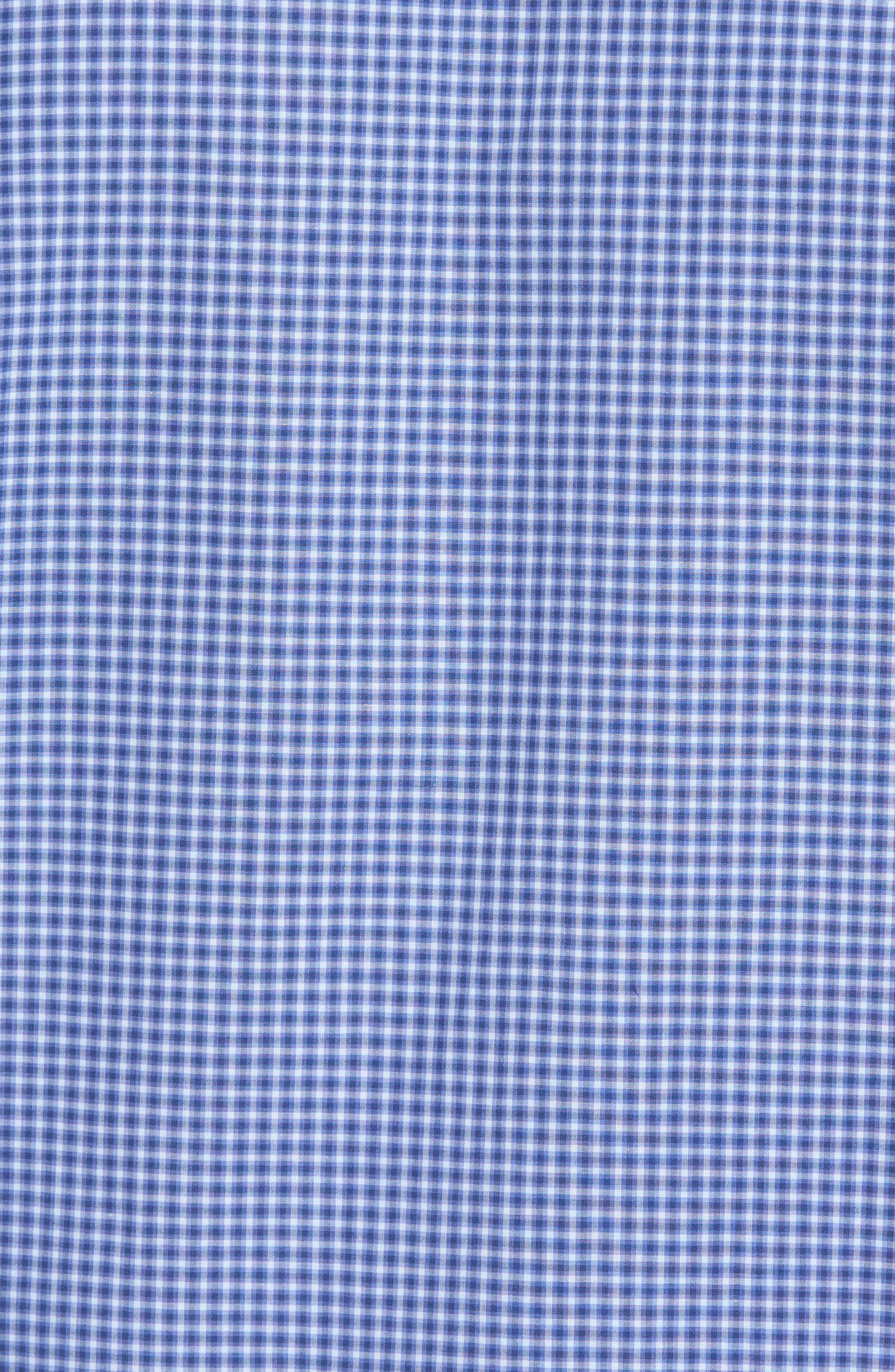 Ahmed Slim Fit Plaid Sport Shirt,                             Alternate thumbnail 10, color,