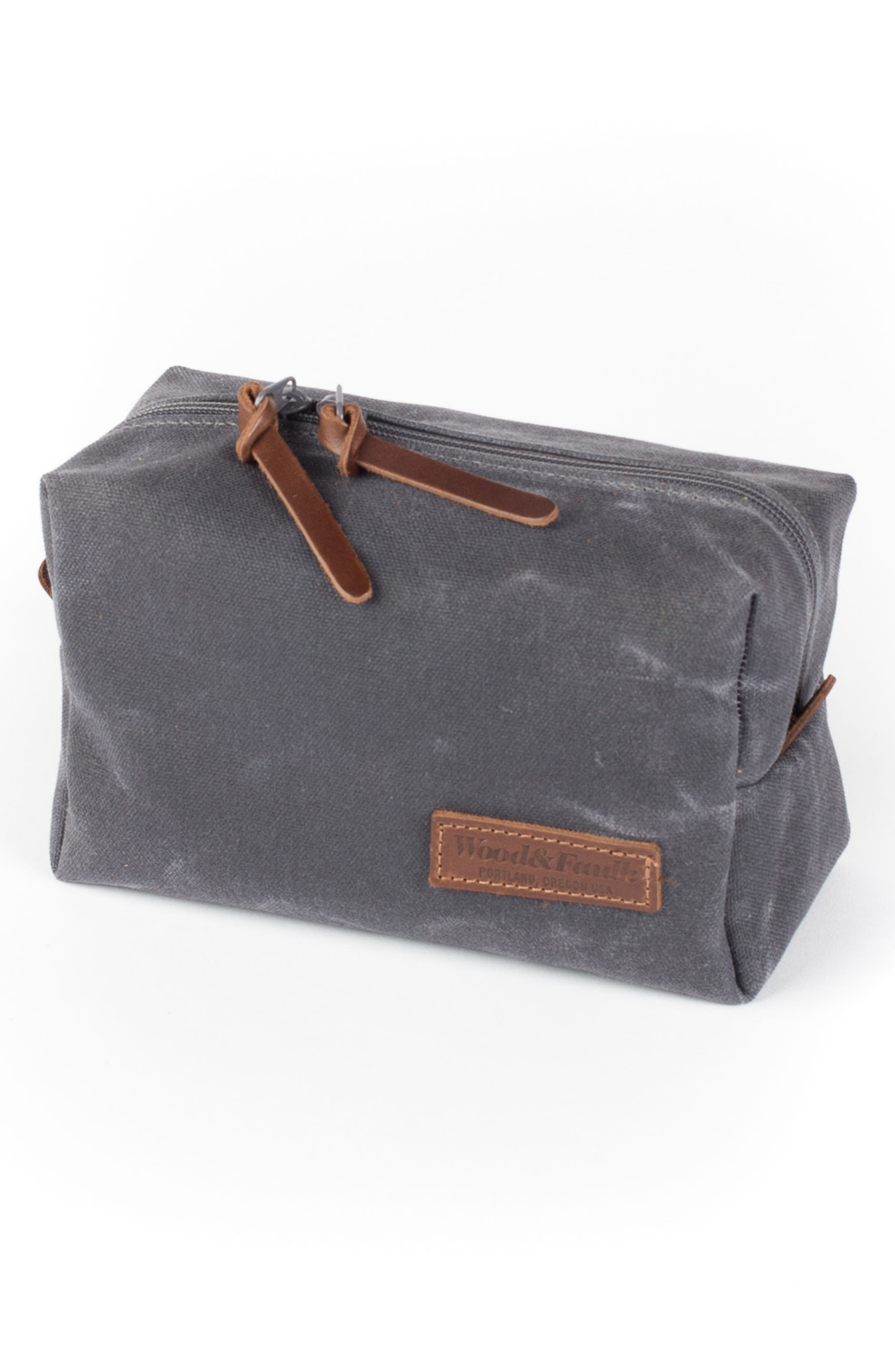 Traverse Waxed Canvas Dopp Kit,                             Alternate thumbnail 4, color,                             021