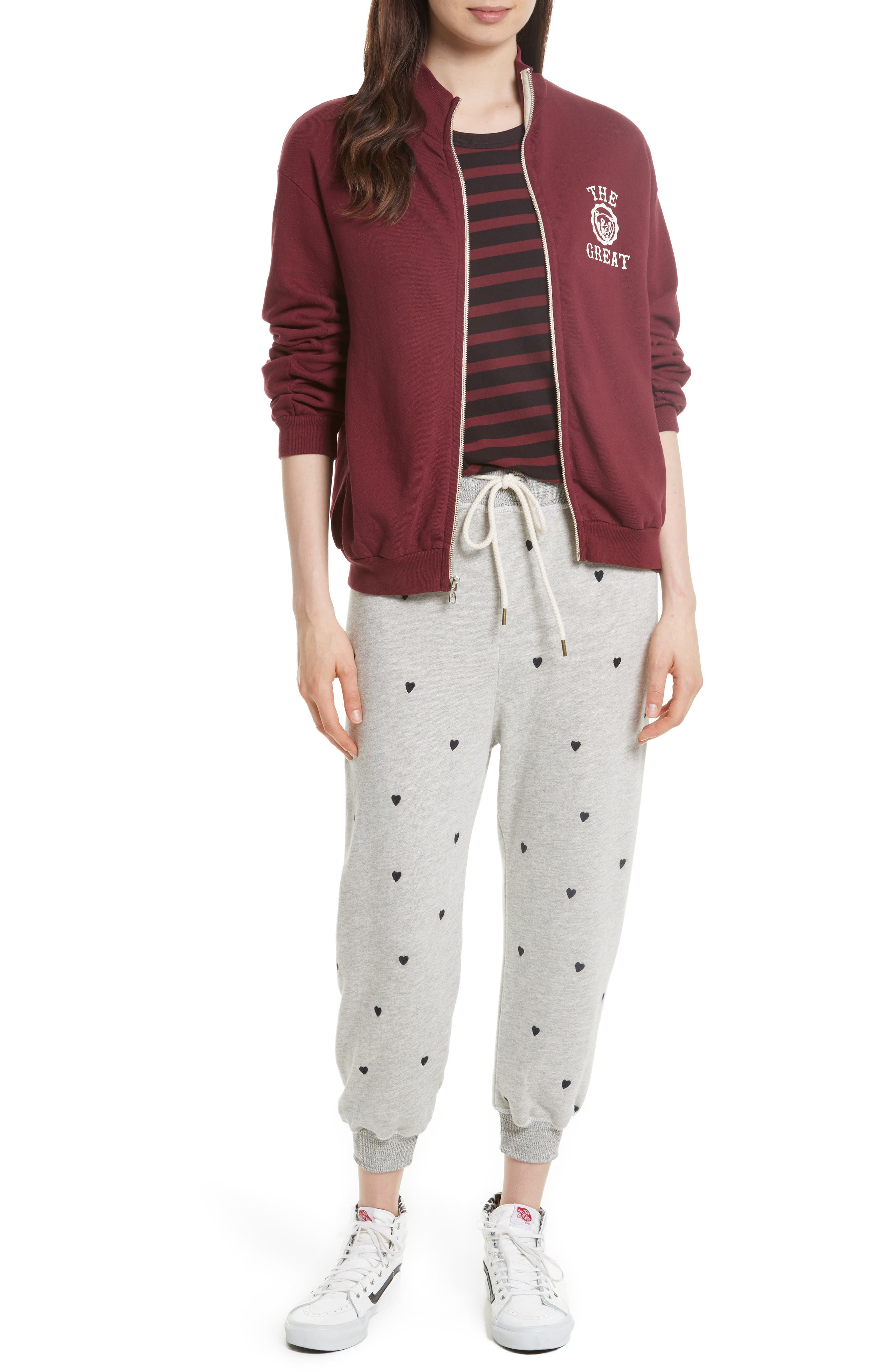The Cropped Sweatpants,                             Alternate thumbnail 14, color,
