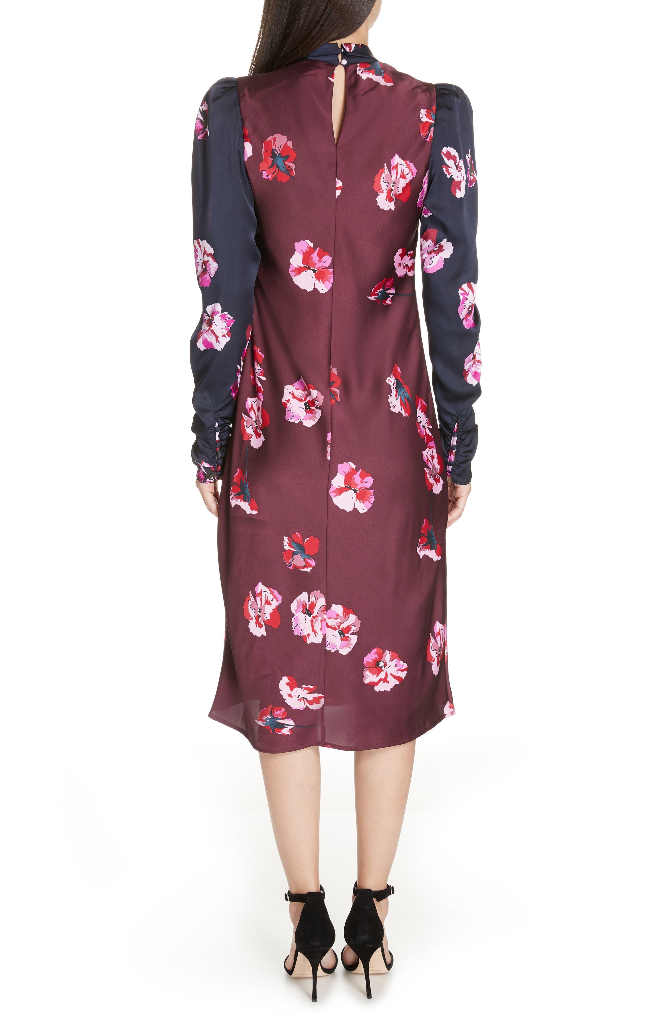 Kyan Sheath Dress,                             Alternate thumbnail 2, color,                             MIDNIGHT-BLACKB