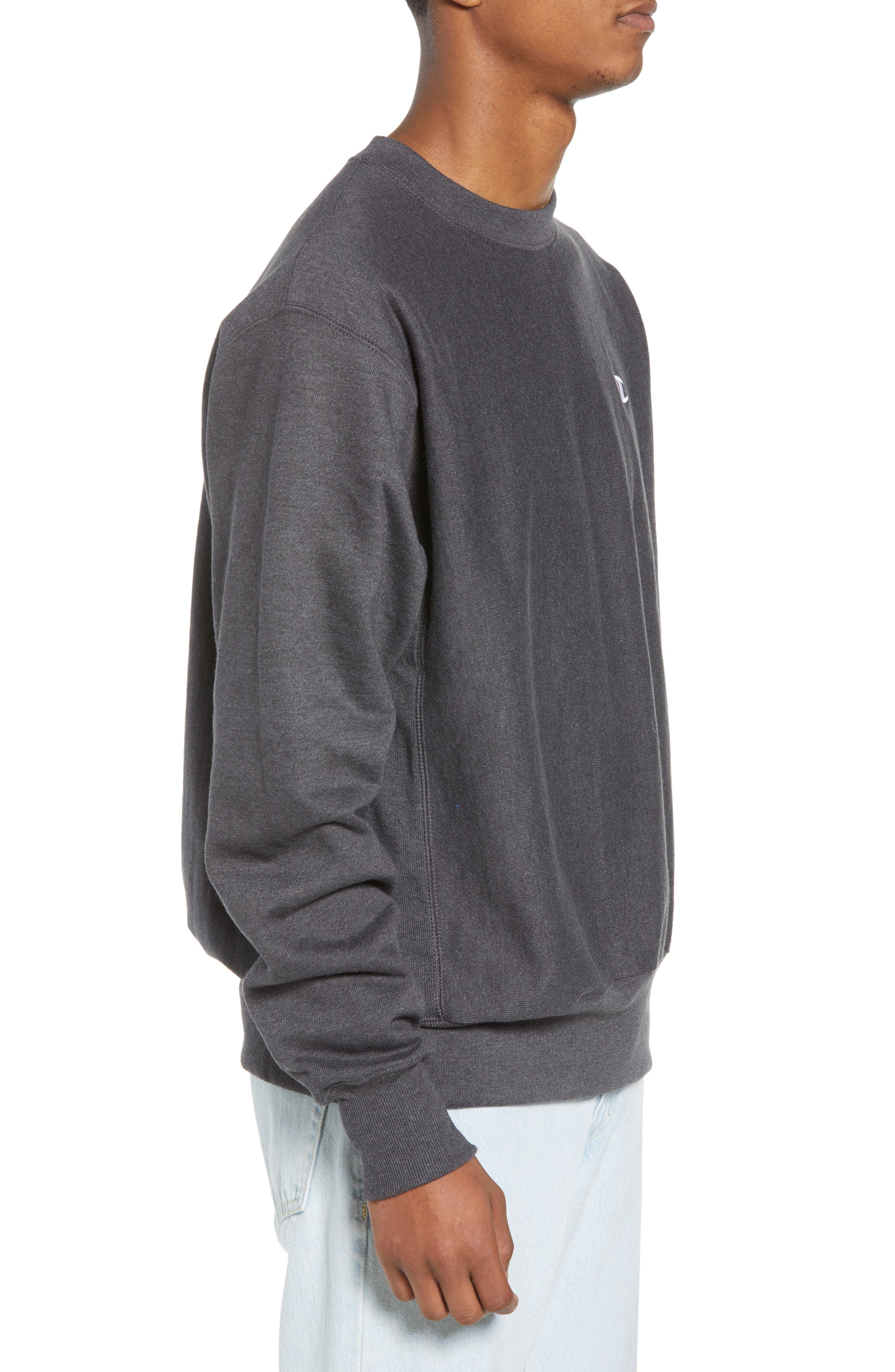 Reverse Weave Sweatshirt,                             Alternate thumbnail 16, color,