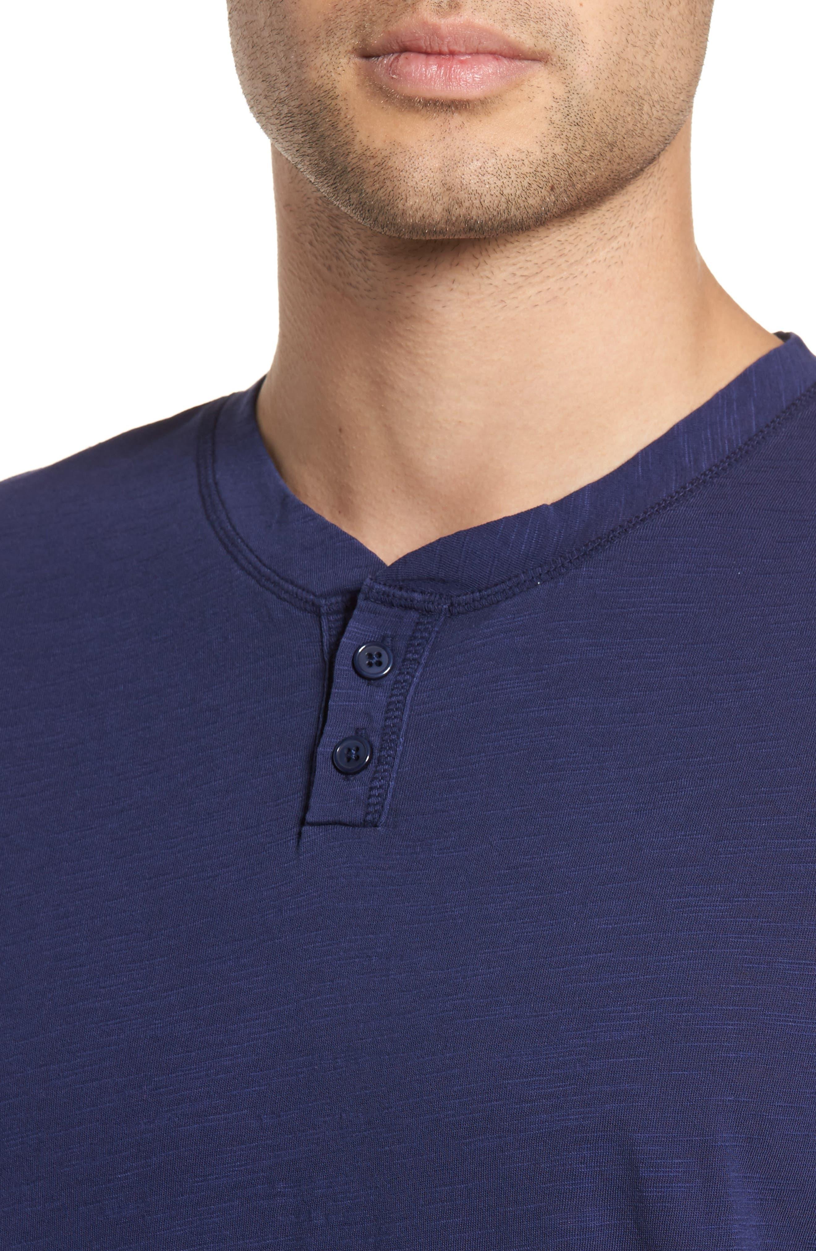 Garment Dye Slub Knit Henley,                             Alternate thumbnail 19, color,