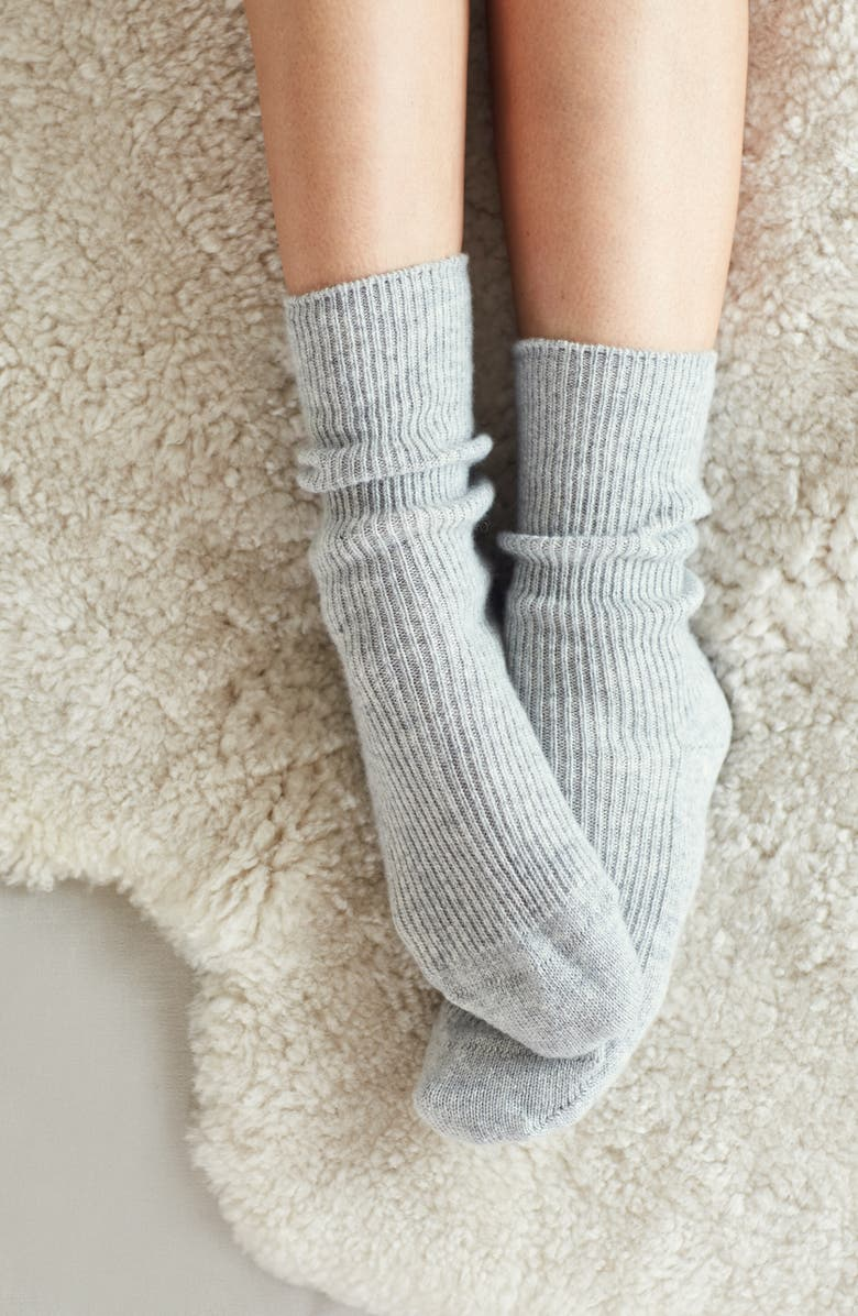 The White Company Cashmere Bed Socks | Nordstrom