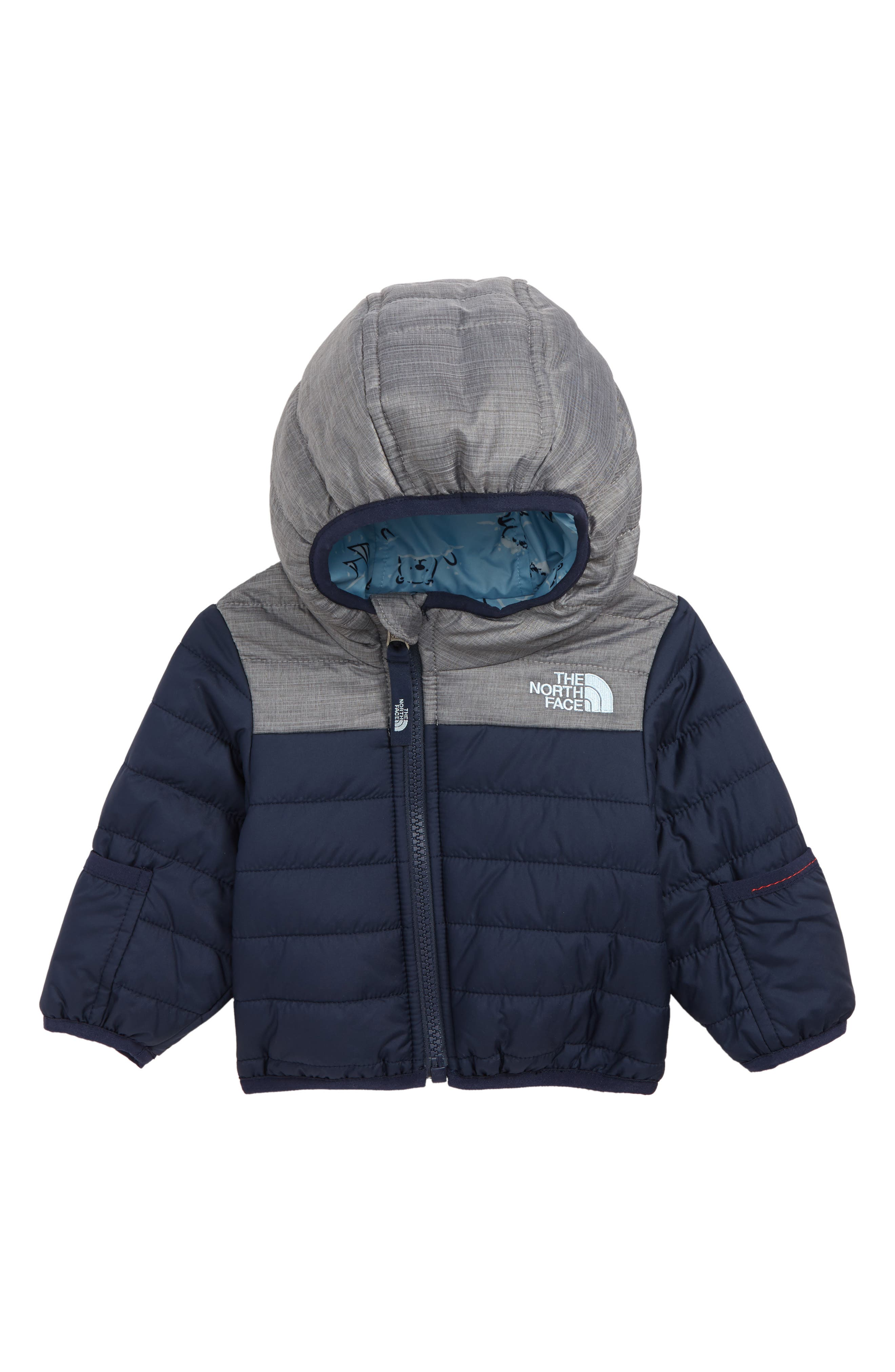 Perrito Reversible Water Repellent Heatseeker<sup>™</sup> Insulated Jacket,                             Main thumbnail 1, color,                             COSMIC BLUE