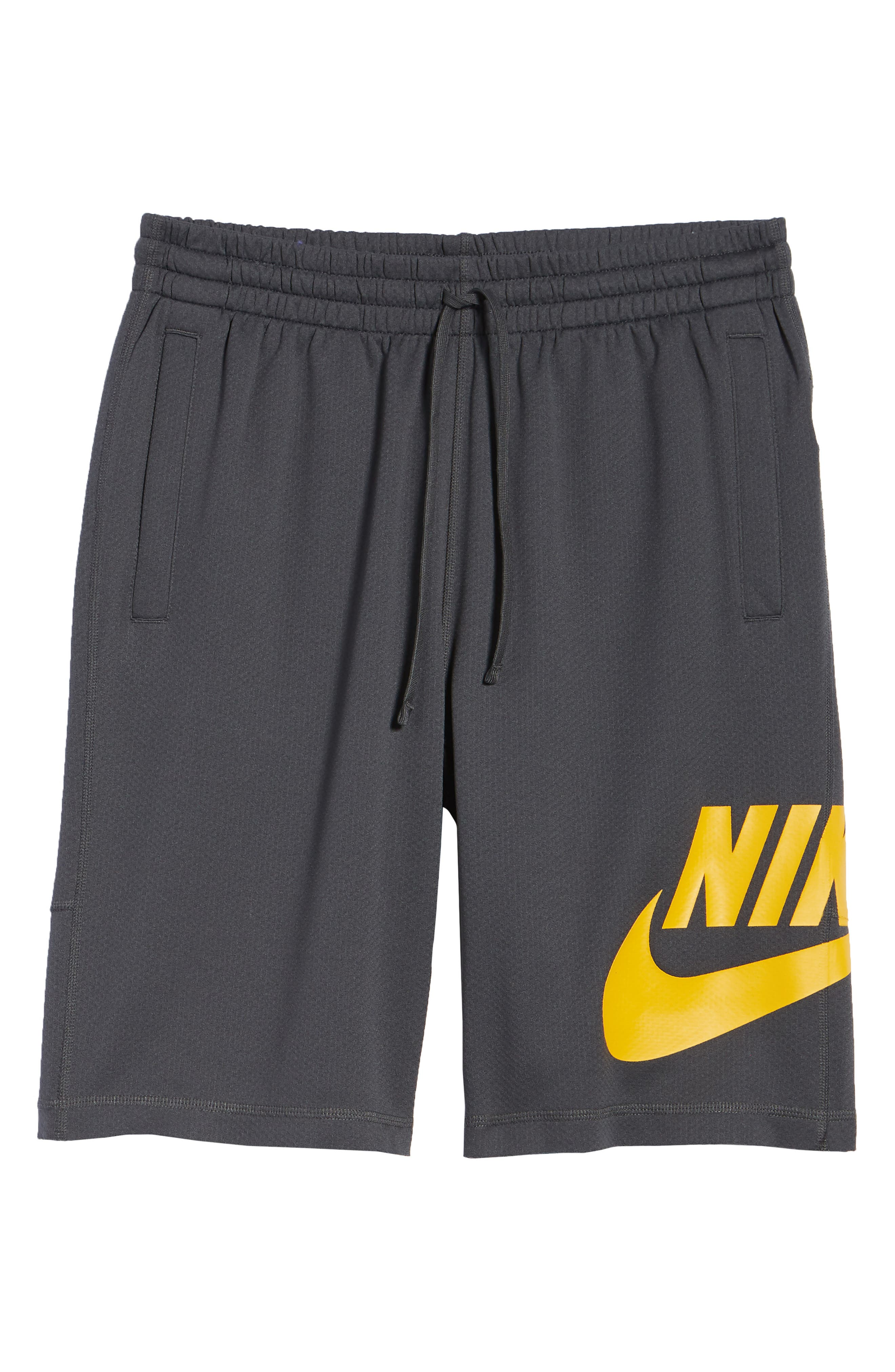 Sunday Dri-FIT Shorts,                             Alternate thumbnail 6, color,                             ANTHRACITE/ YELLOW OCHRE