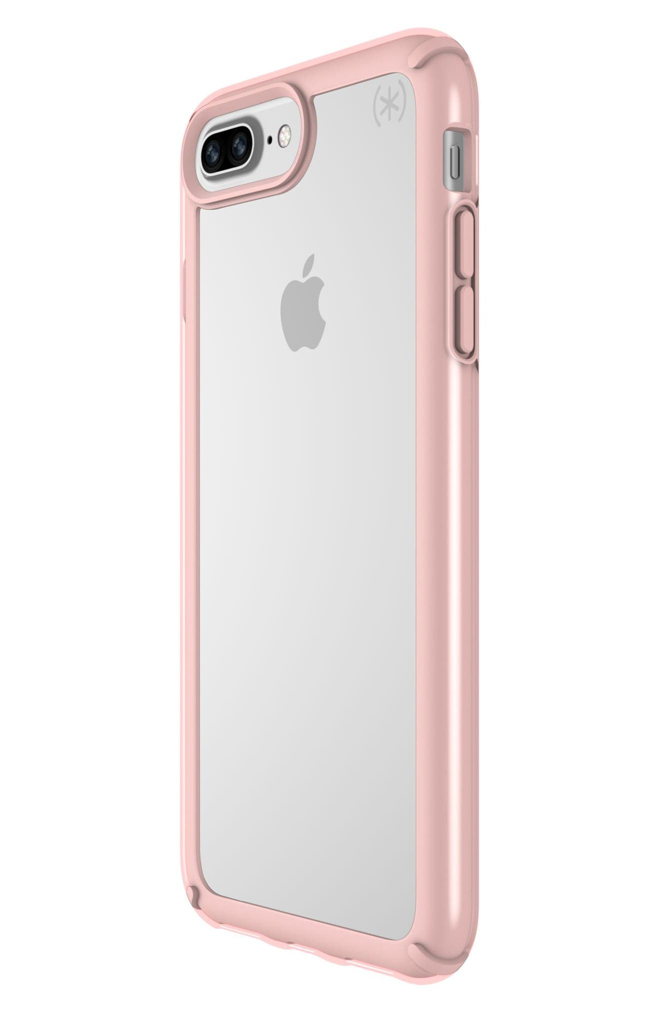 iPhone 6/6s/7/8 Plus Case,                             Alternate thumbnail 5, color,                             CLEAR/ ROSE GOLD