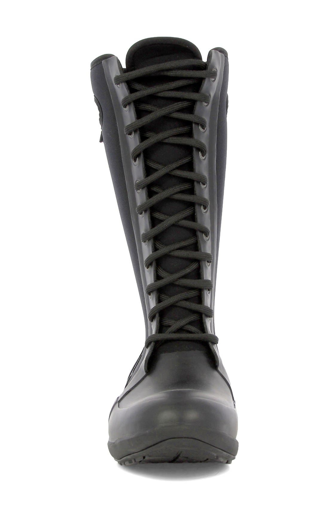 'Cami' Knee High Waterproof Boot,                             Alternate thumbnail 3, color,                             001